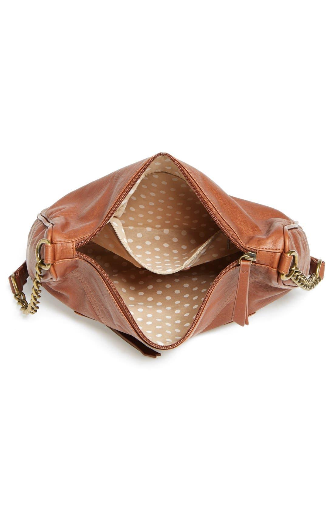 Alternate Image 3  - KENDALL + KYLIE Madden Girl Zip Detail Crossbody Bag (Juniors)