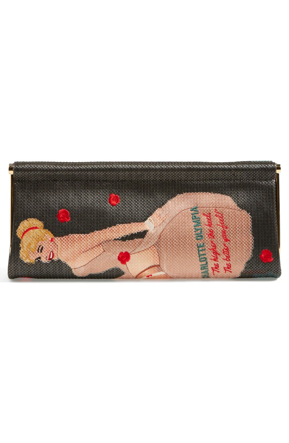 Alternate Image 4  - Charlotte Olympia 'Magazine' Clutch