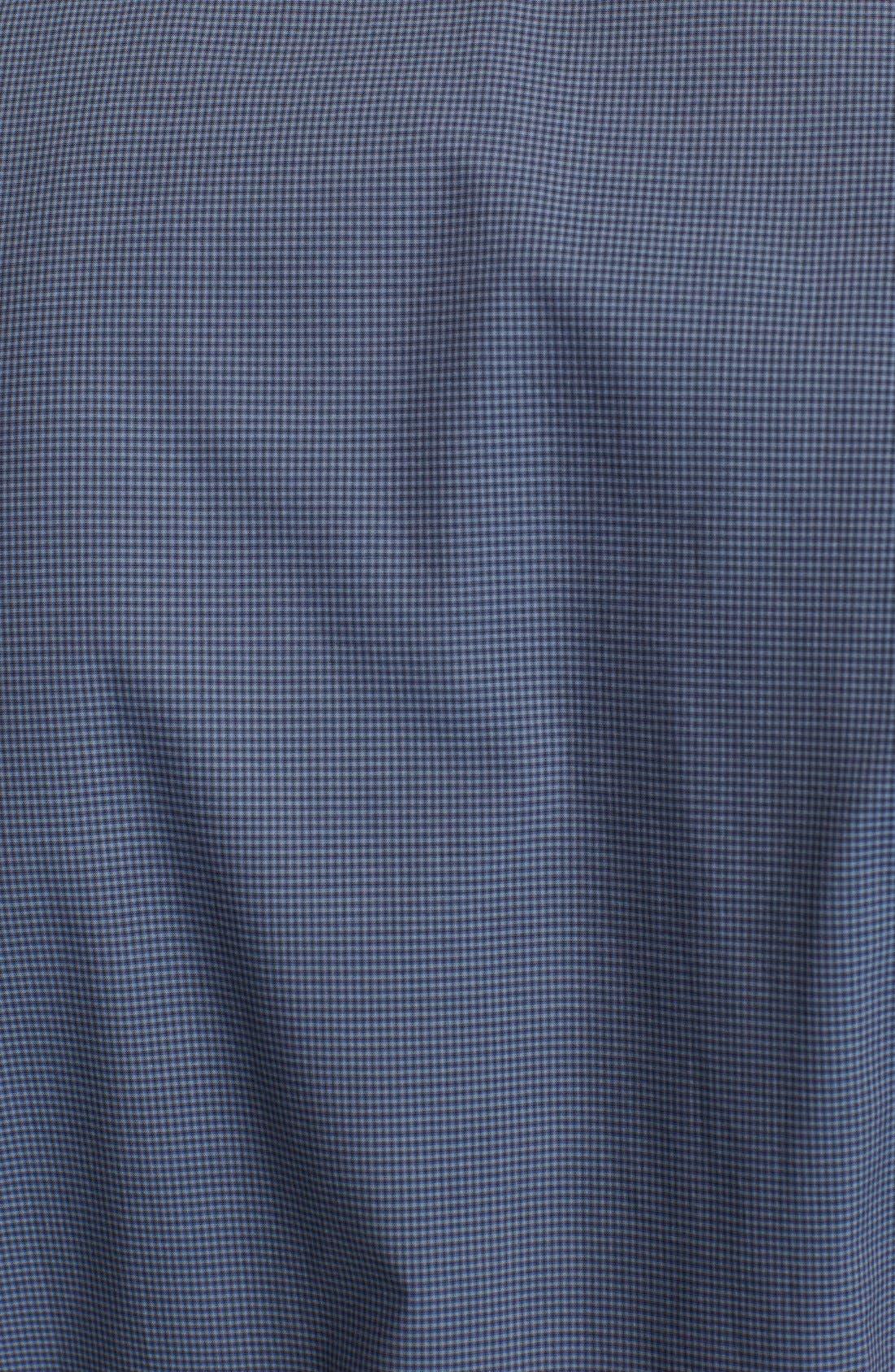Alternate Image 3  - John Varvatos Collection Slim Fit Check Cotton Shirt