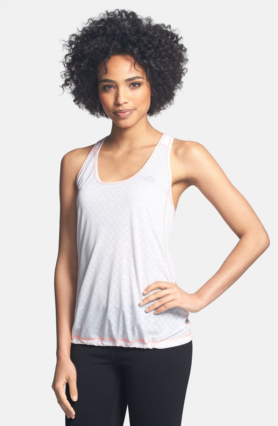 Main Image - The North Face 'Eat My Dust' Mesh Racerback Tank