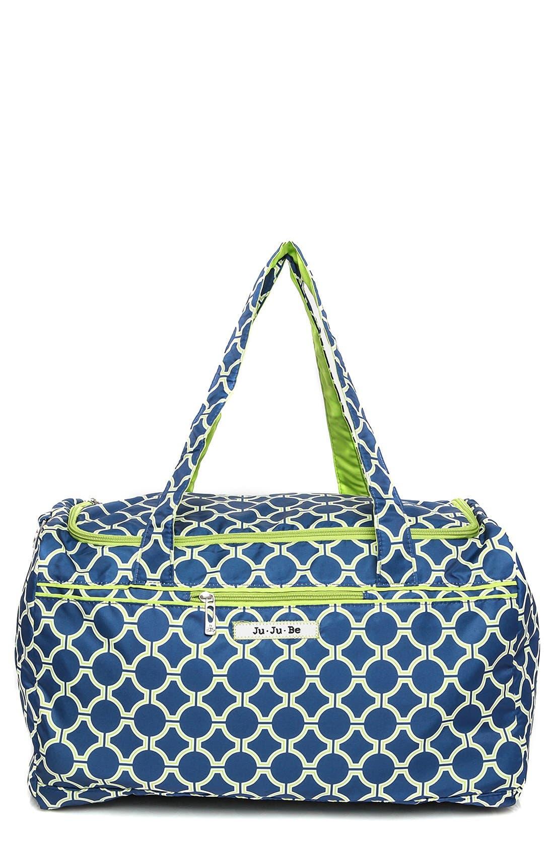'Super Star' Travel Diaper Bag,                             Main thumbnail 1, color,                             Royal Envy
