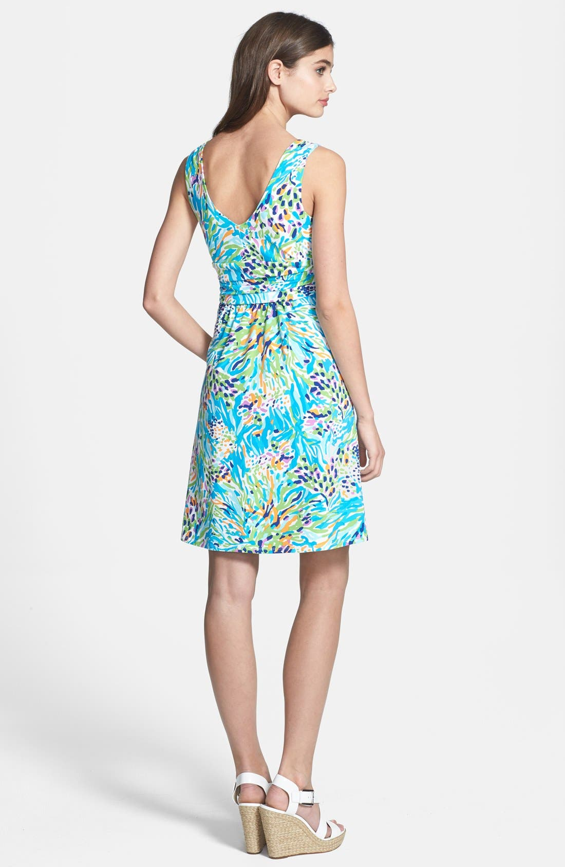Alternate Image 2  - Lilly Pulitzer® 'Shianne' Print Jersey Fit & Flare Dress