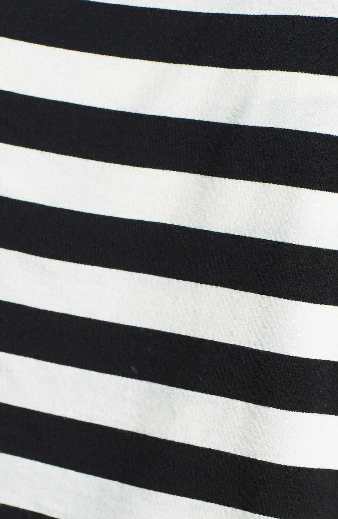 Alternate Image 3  - Vince Camuto Stripe Bandage Top (Plus Size)
