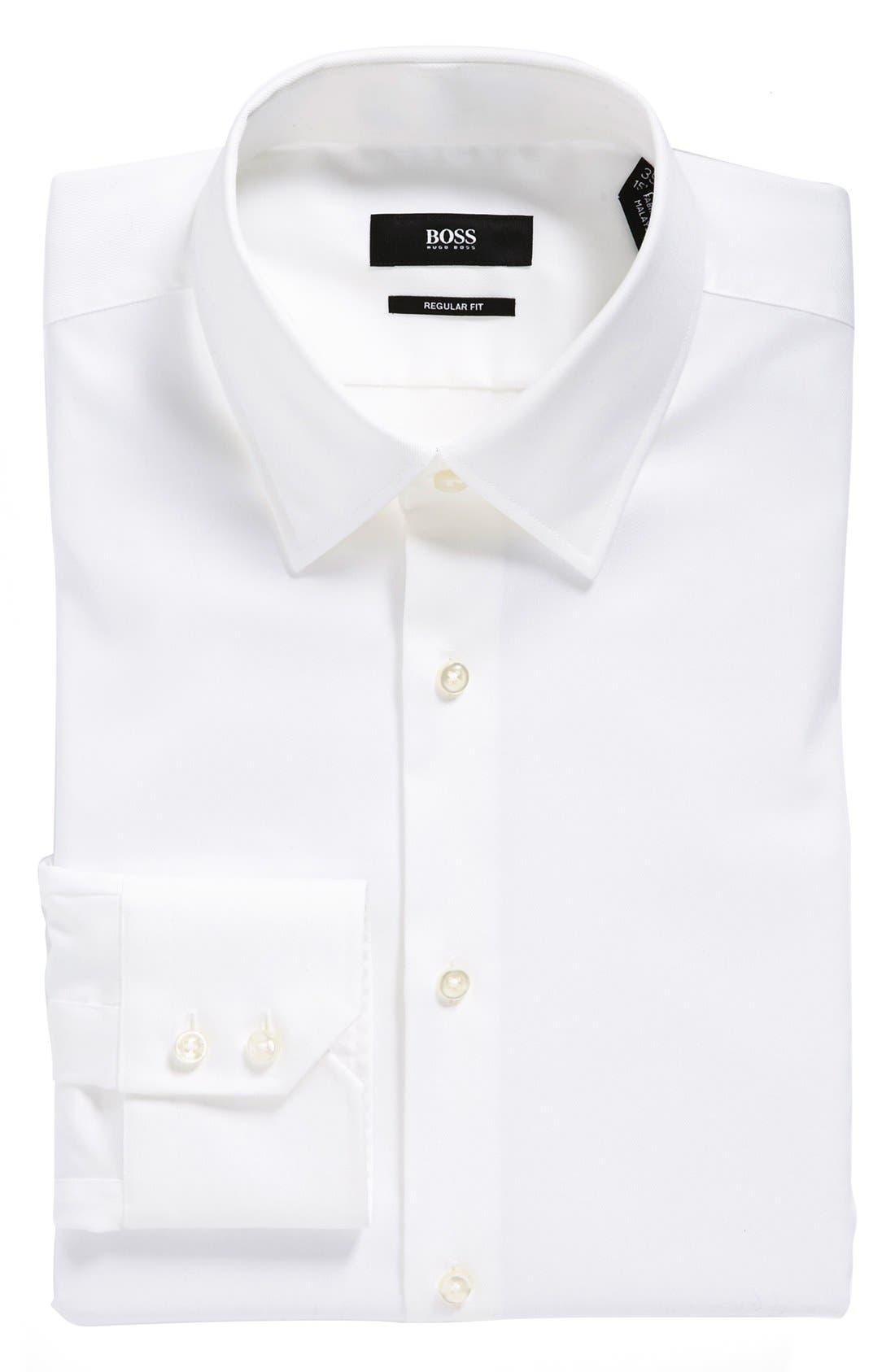 Alternate Image 1 Selected - BOSS HUGO BOSS 'Enzo' WW Regular Fit Easy Iron Dress Shirt