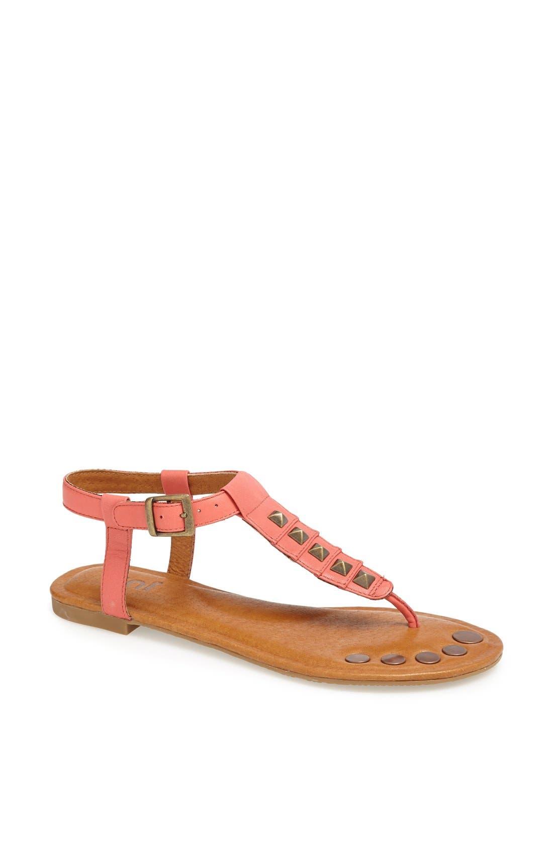 Alternate Image 1 Selected - Juil 'Kava' Grounded Leather Sandal