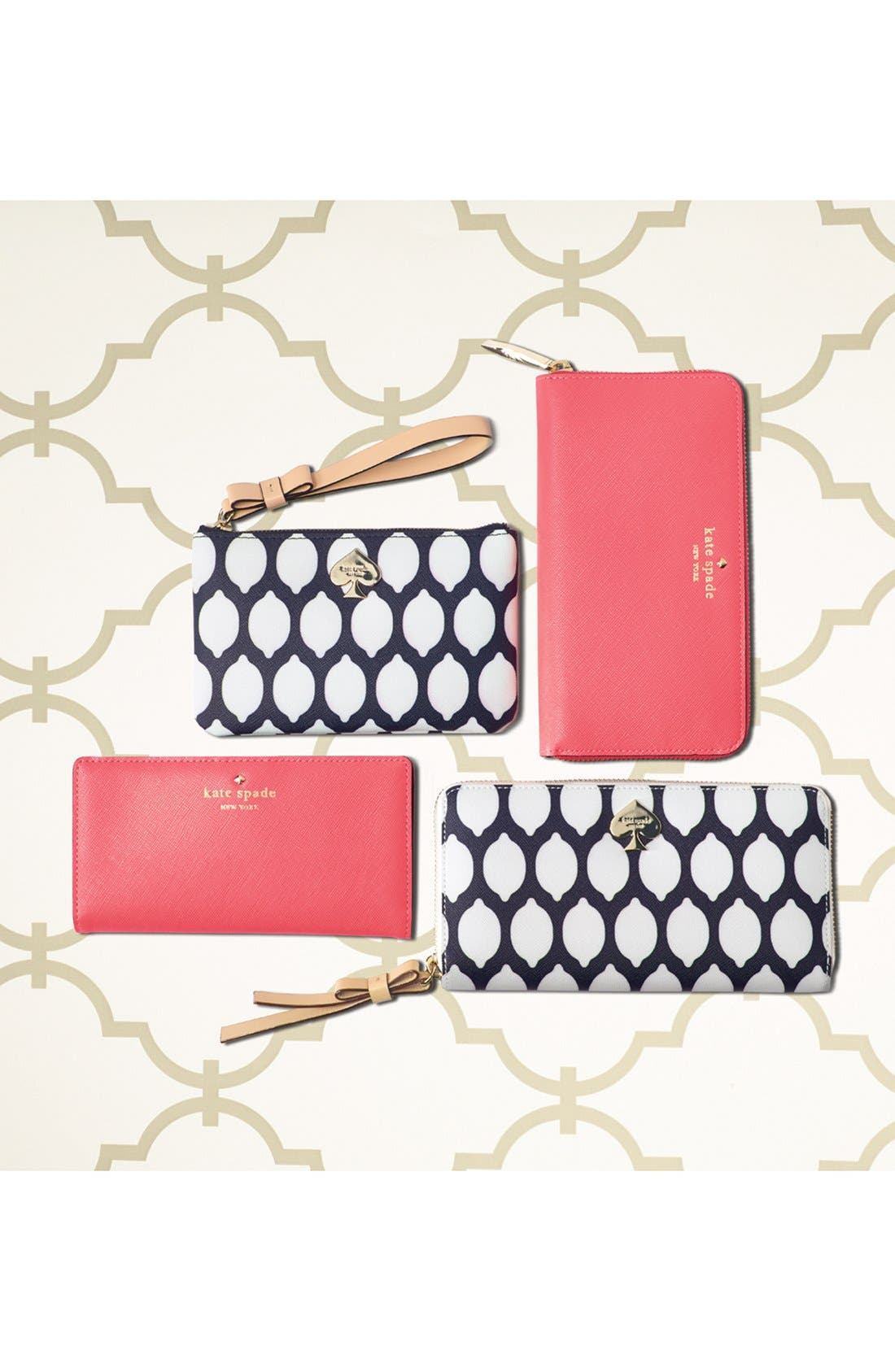 Alternate Image 5  - kate spade new york 'cobblestone park - bee' wristlet