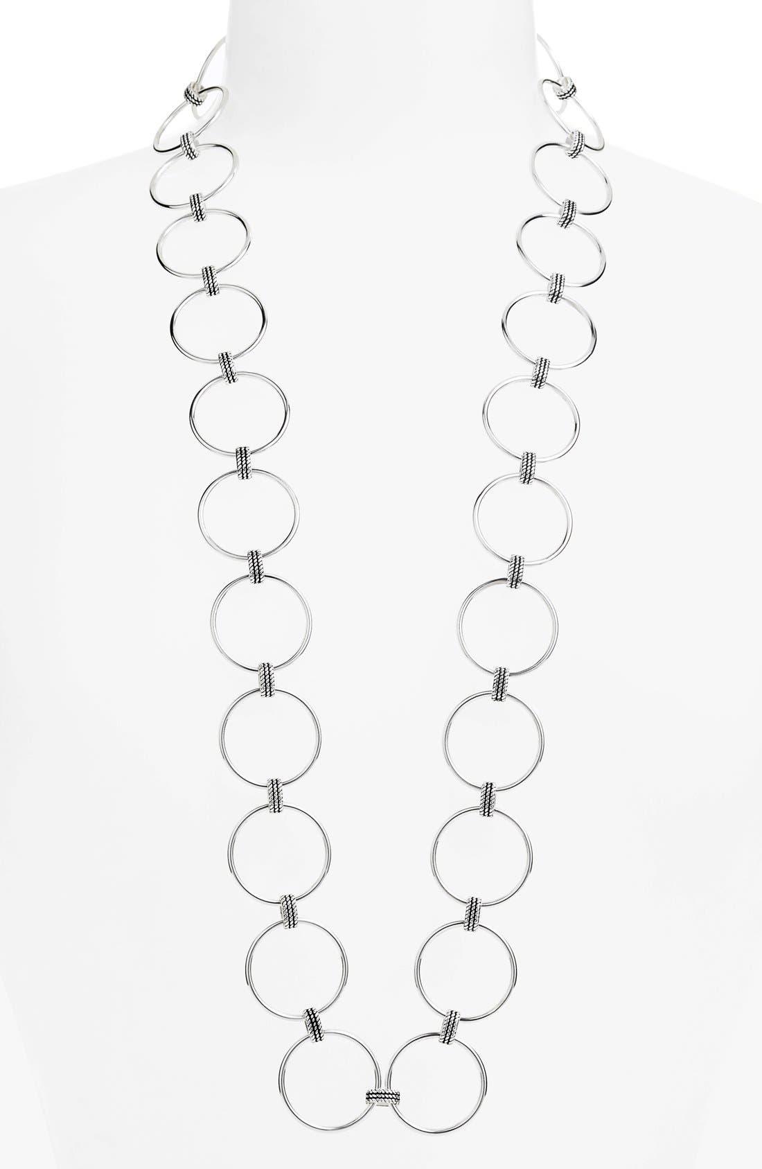 Alternate Image 1 Selected - Lauren Ralph Lauren Link Necklace