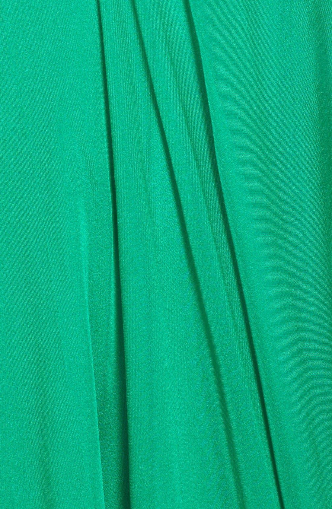 Alternate Image 3  - Sherri Hill One Shoulder Embellished Chiffon Gown