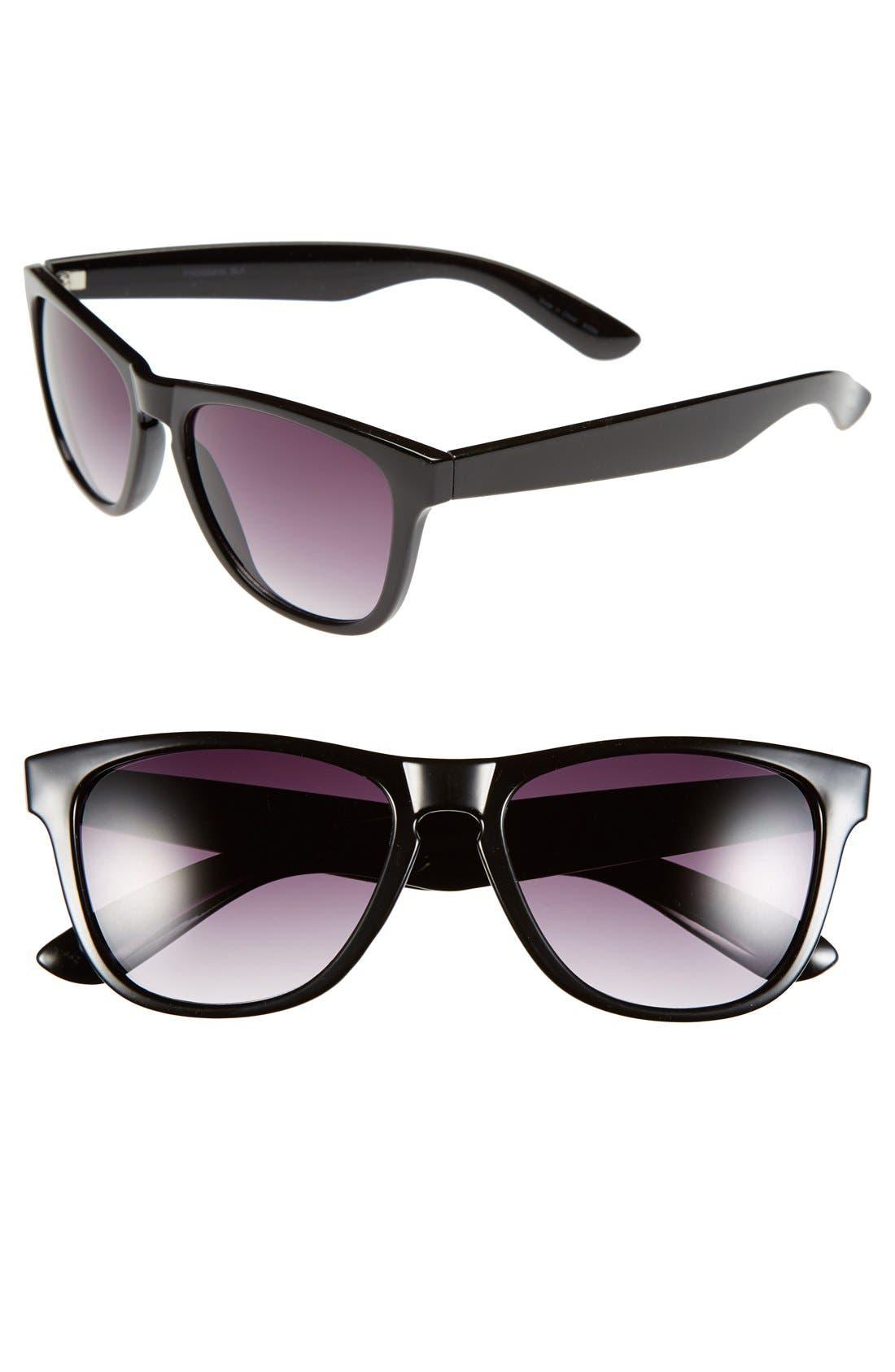 Alternate Image 1 Selected - Outlook Eyewear 'Frogskin' 55mm Sunglasses