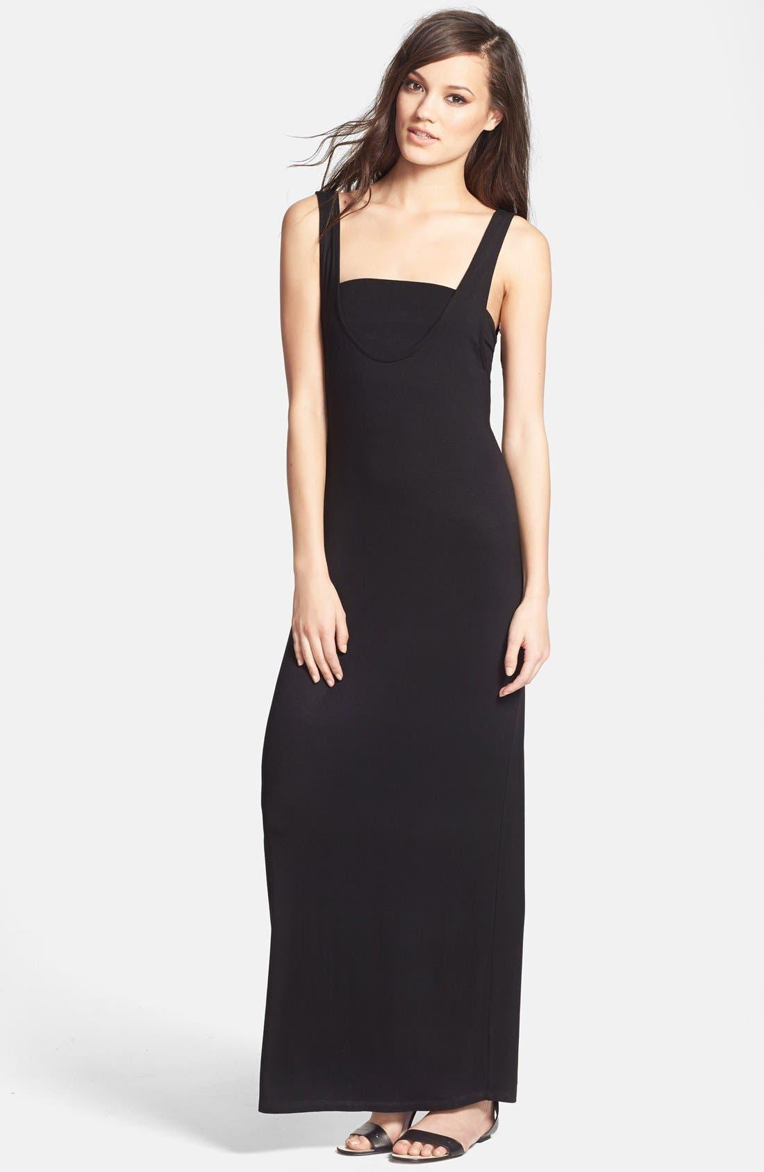 Alternate Image 1 Selected - June & Hudson Maxi Dress & Bandeau
