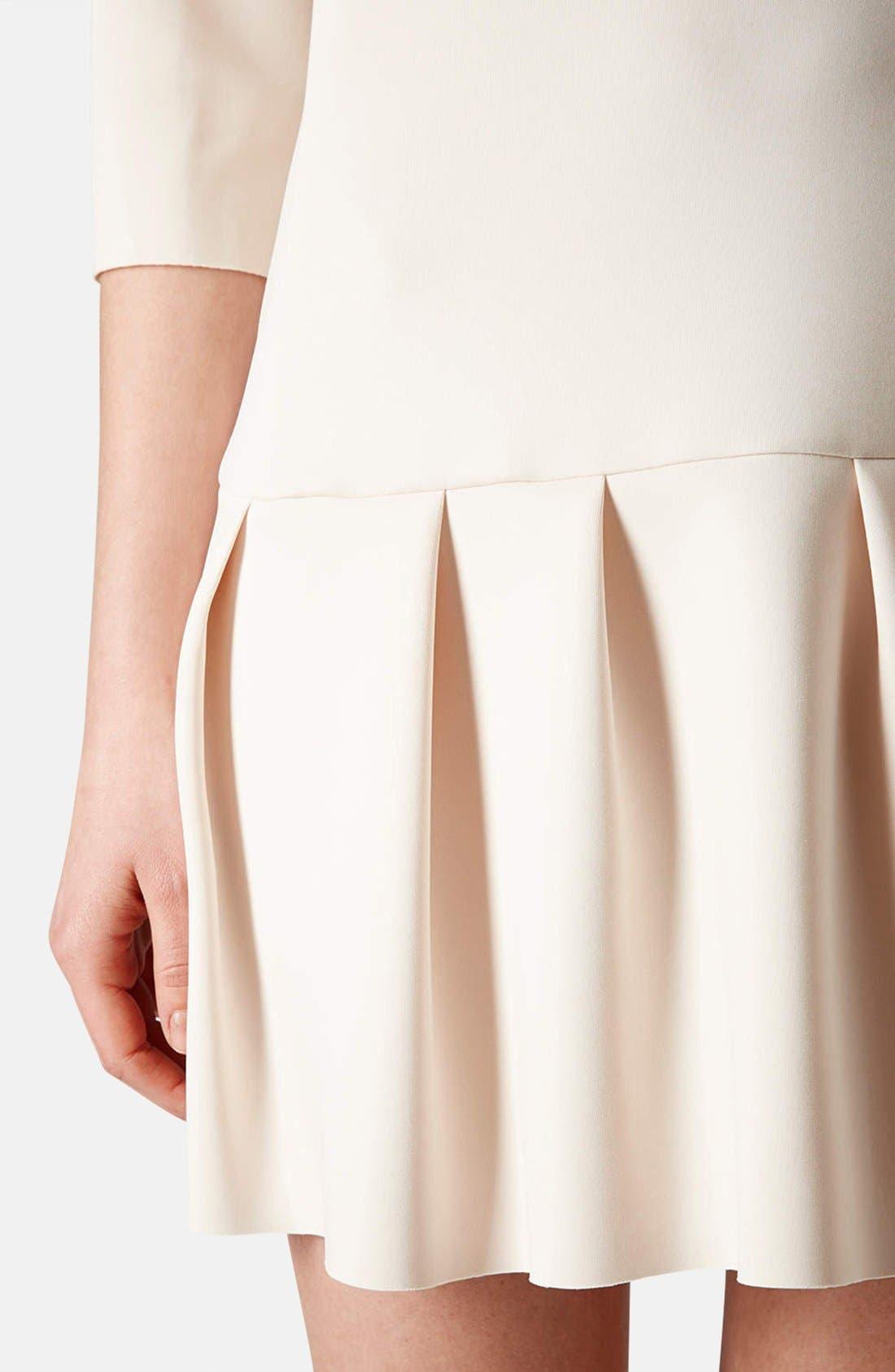 Alternate Image 4  - Topshop Drop Waist Scuba Dress