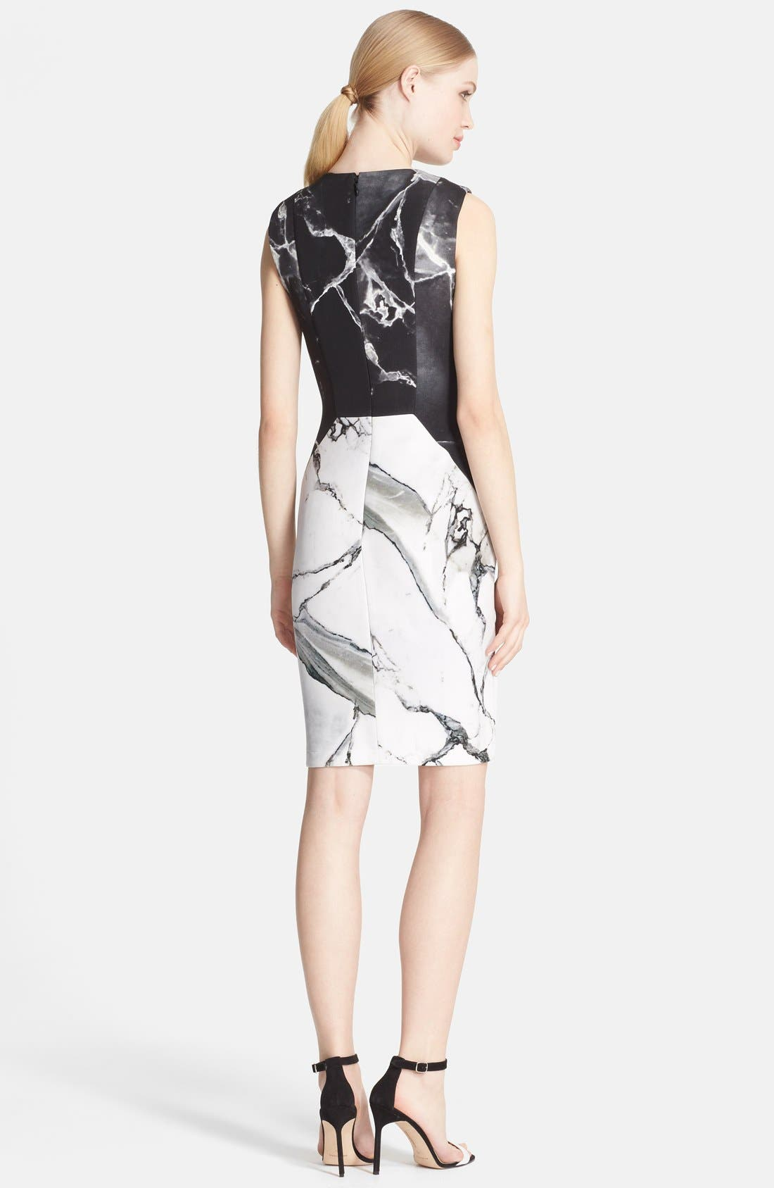 Alternate Image 2  - Robert Rodriguez 'Carrara' Print Sheath Dress
