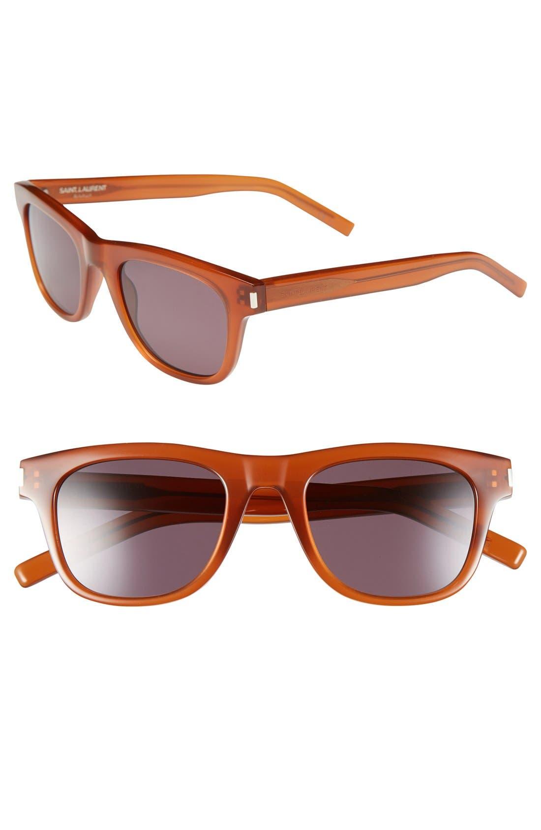 Alternate Image 1 Selected - Saint Laurent 49mm Sunglasses