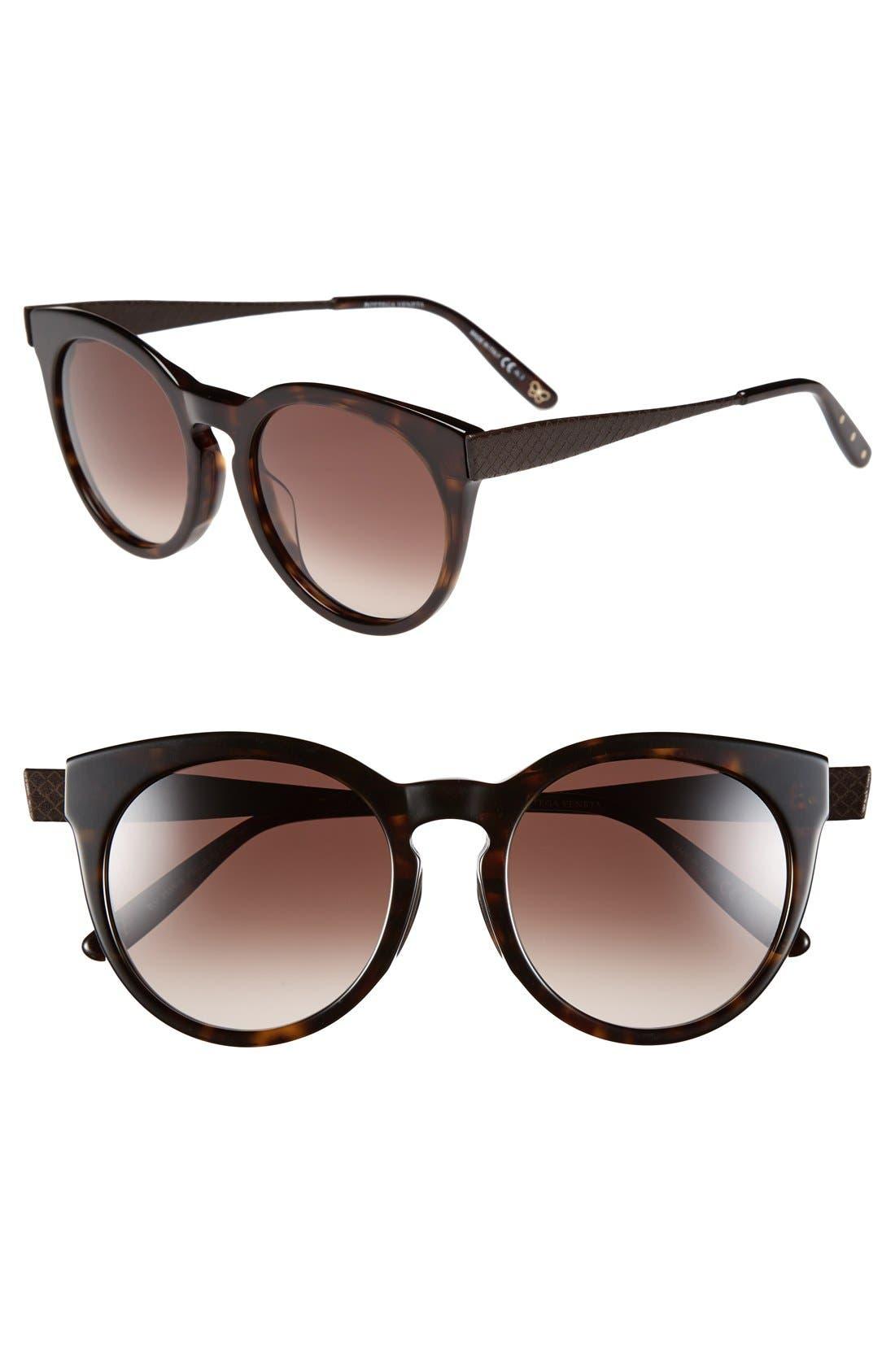 Alternate Image 1 Selected - Bottega Veneta 52mm Special Fit Sunglasses