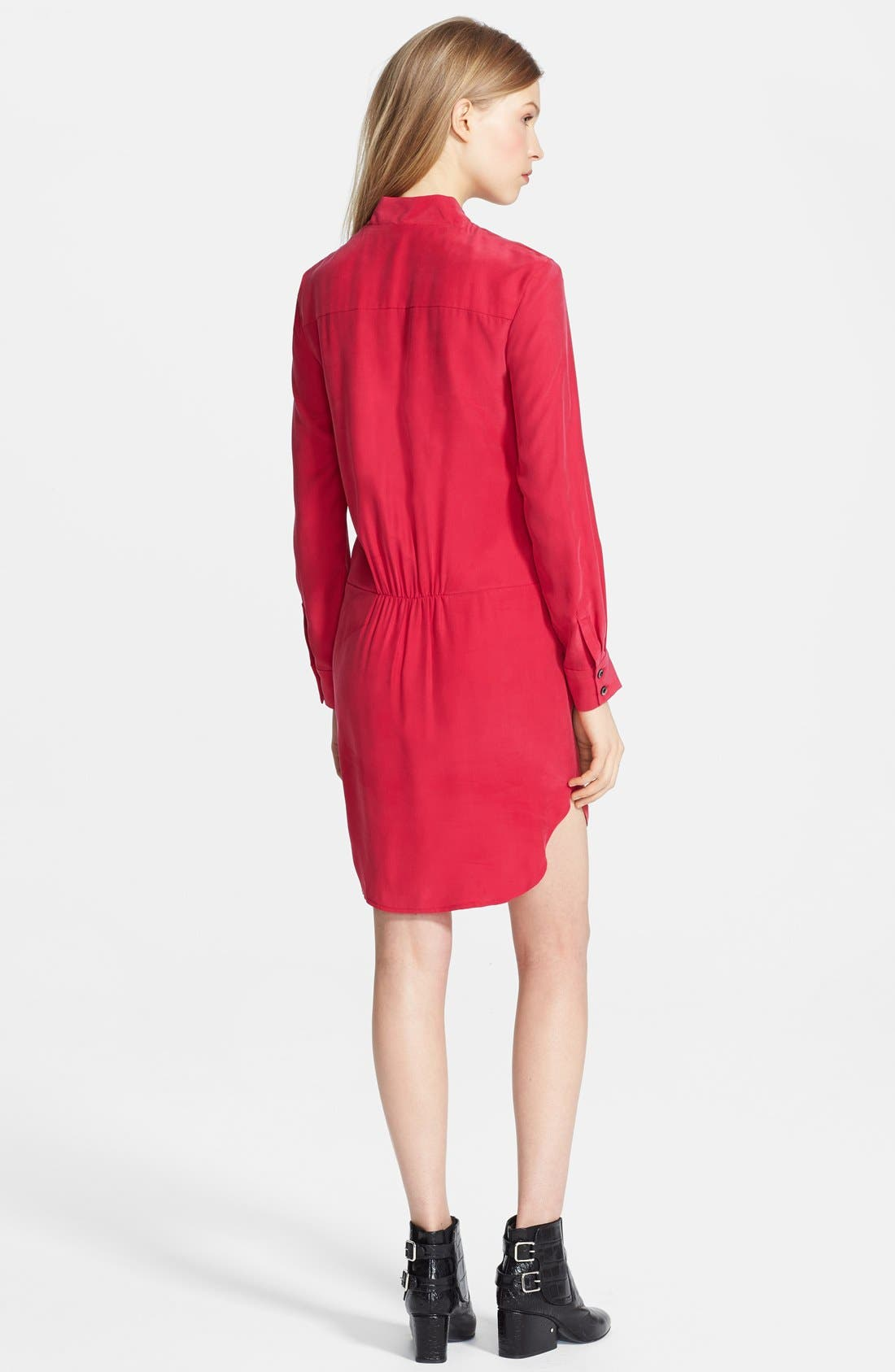 Alternate Image 2  - Thakoon Silk Shirtdress