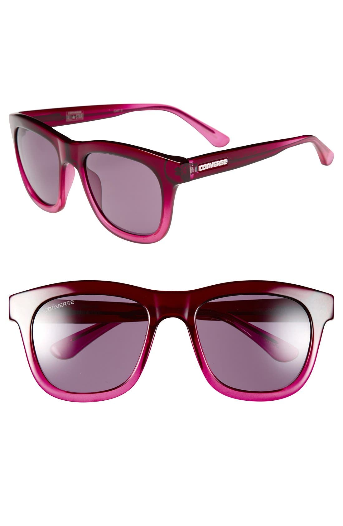 Alternate Image 1 Selected - Converse 54mm Retro Sunglasses