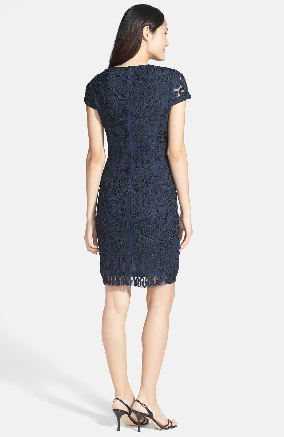 Alternate Image 2  - JS Collections Soutache Dress (Regular & Petite)