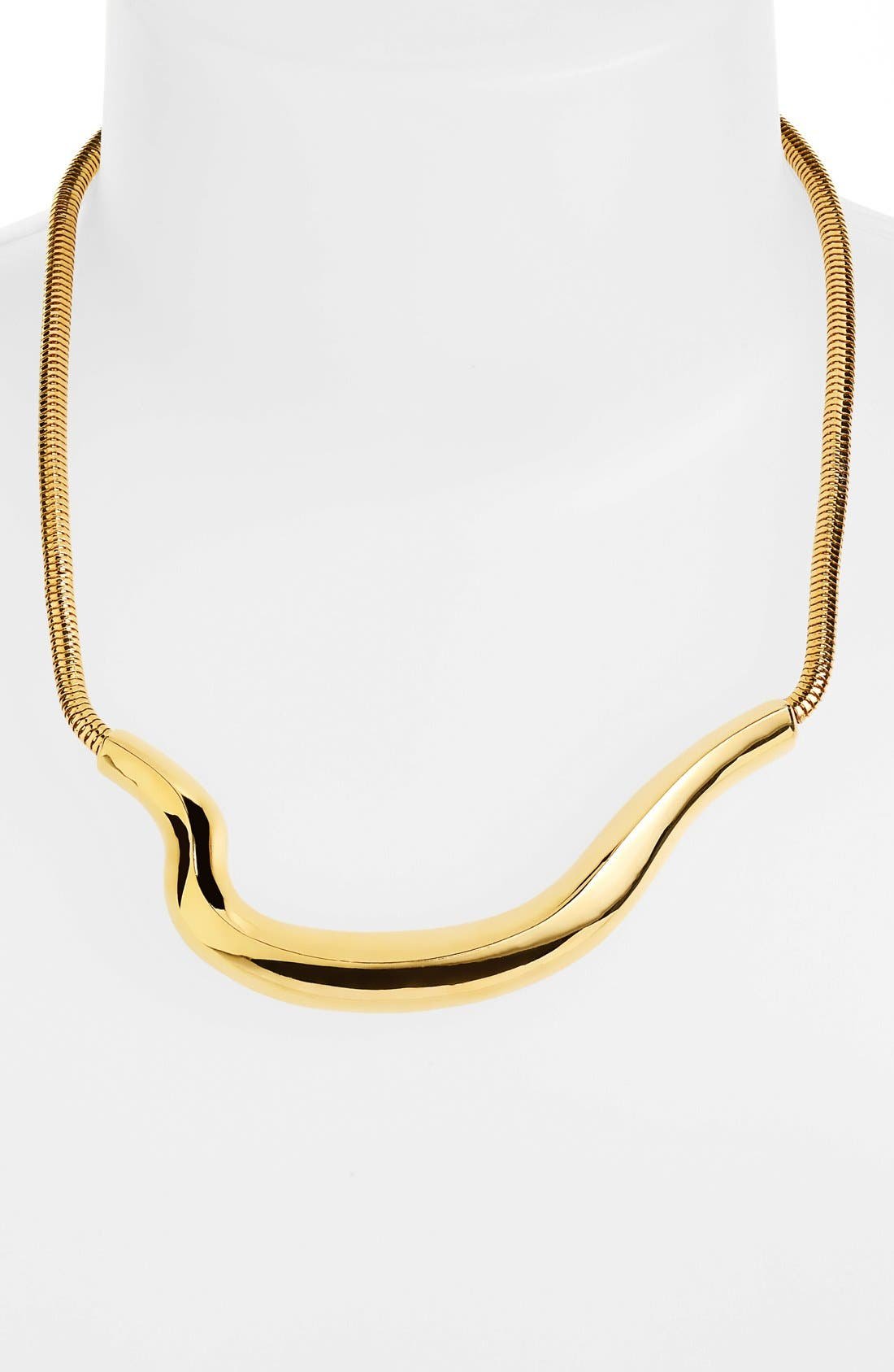 Alternate Image 1 Selected - Vince Camuto 'Liquid Luxury' Frontal Necklace