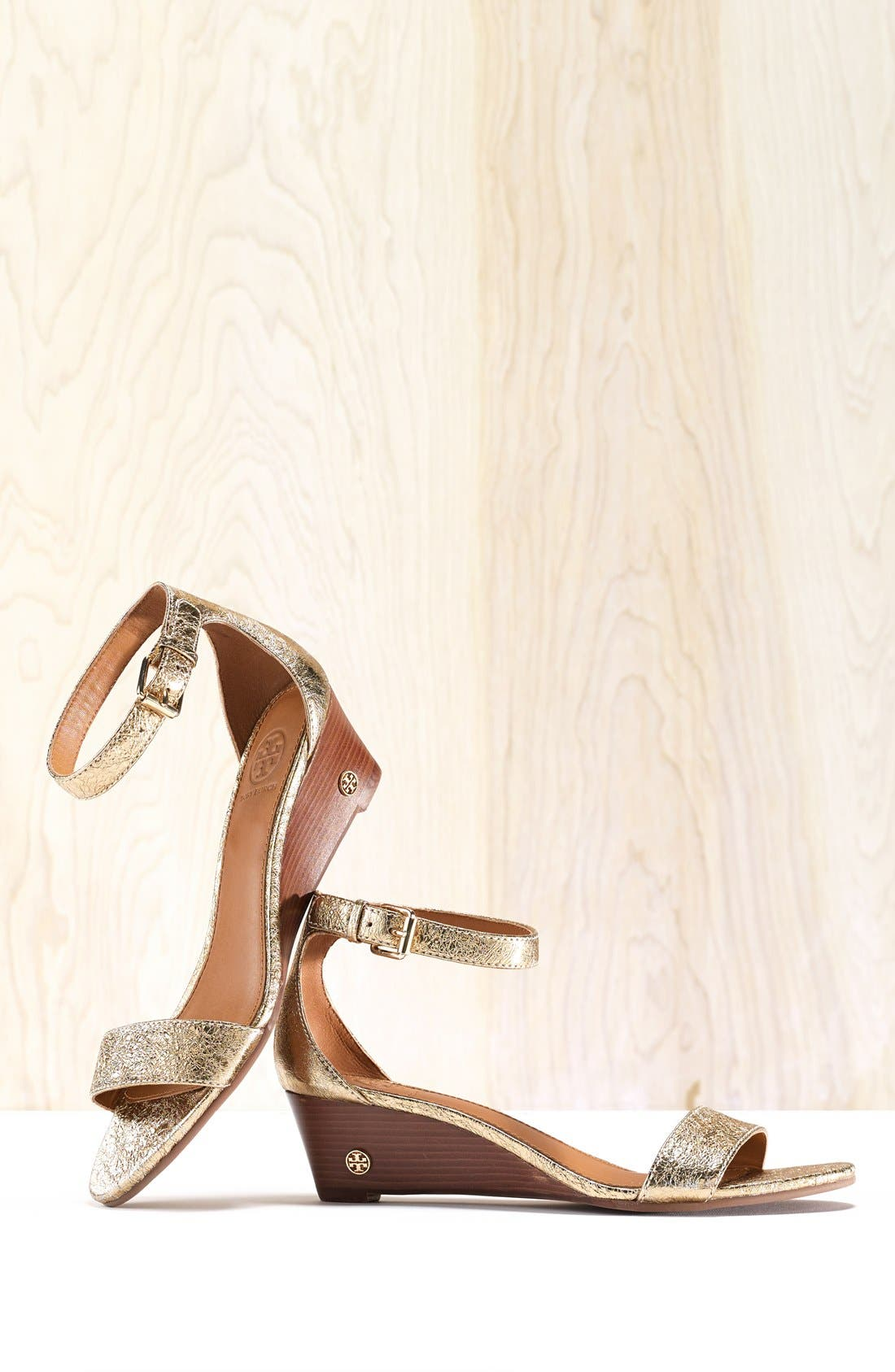 'Savannah' Wedge Sandal,                             Alternate thumbnail 5, color,