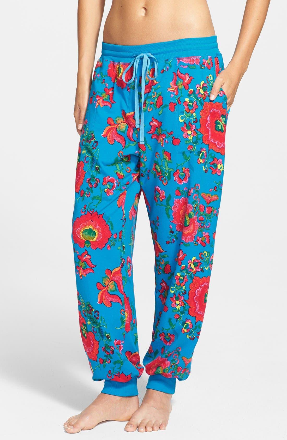 Alternate Image 1 Selected - Josie 'Boho Chic' Slouchy Dorm Pants