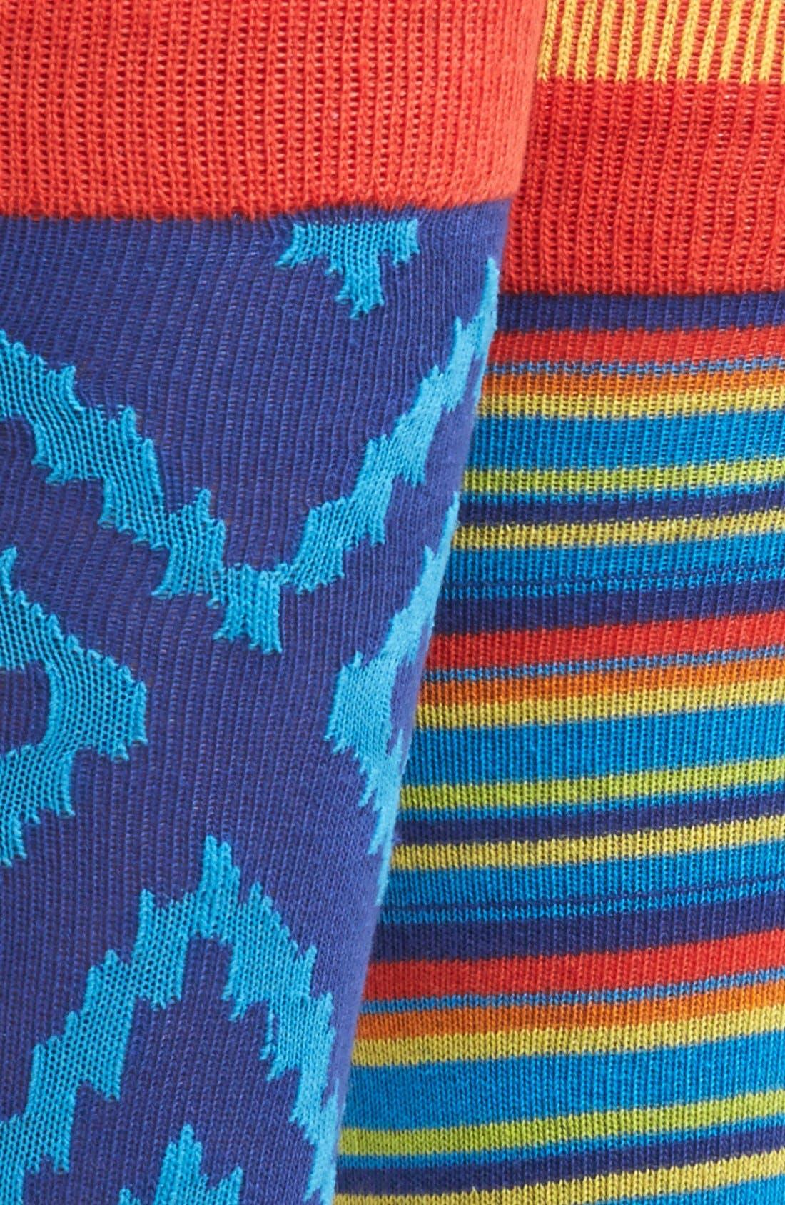 Alternate Image 2  - The Rail Cotton Blend Socks (Assorted 3-Pack)