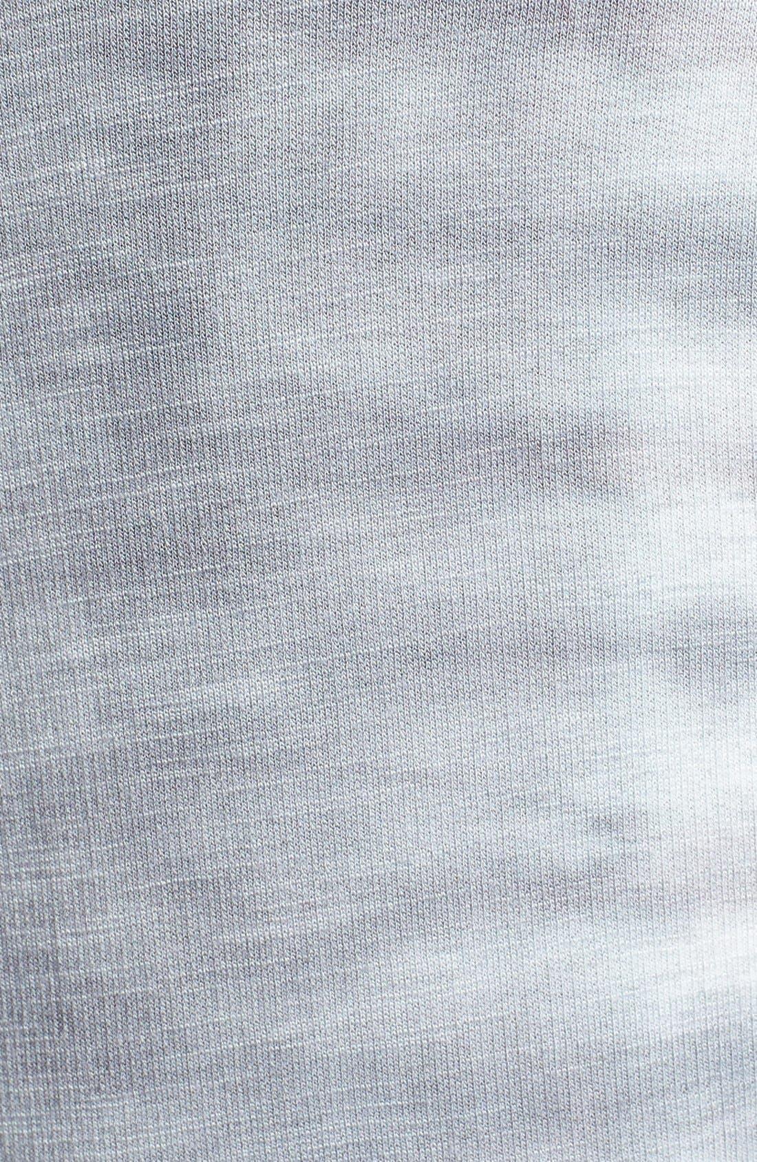 Alternate Image 3  - Monrow 'Fish Bone' Crewneck Sweatshirt
