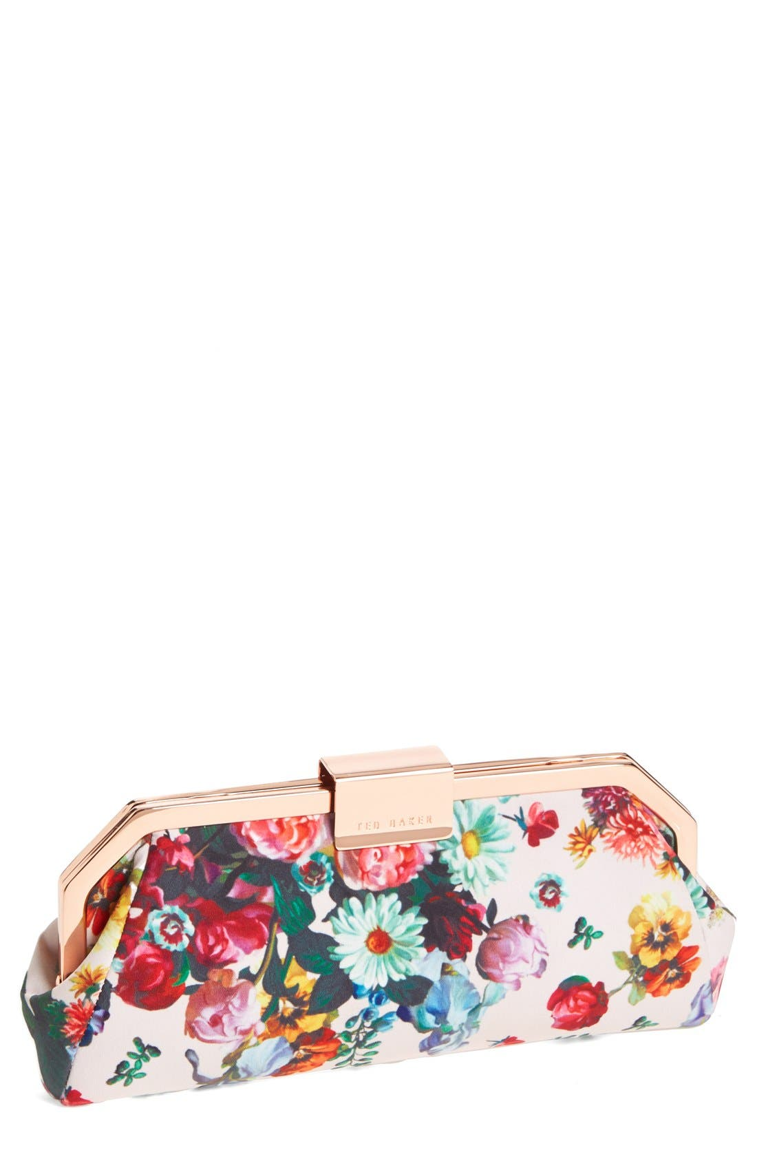 Alternate Image 1 Selected - Ted Baker London Floral Clutch