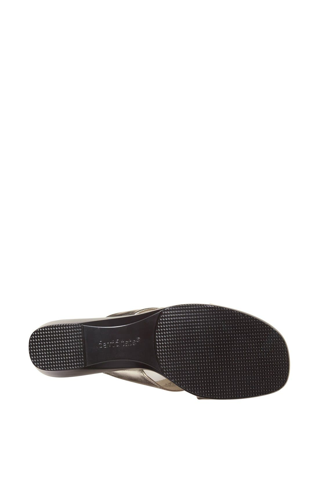 Alternate Image 4  - David Tate 'Luca' Slide Sandal