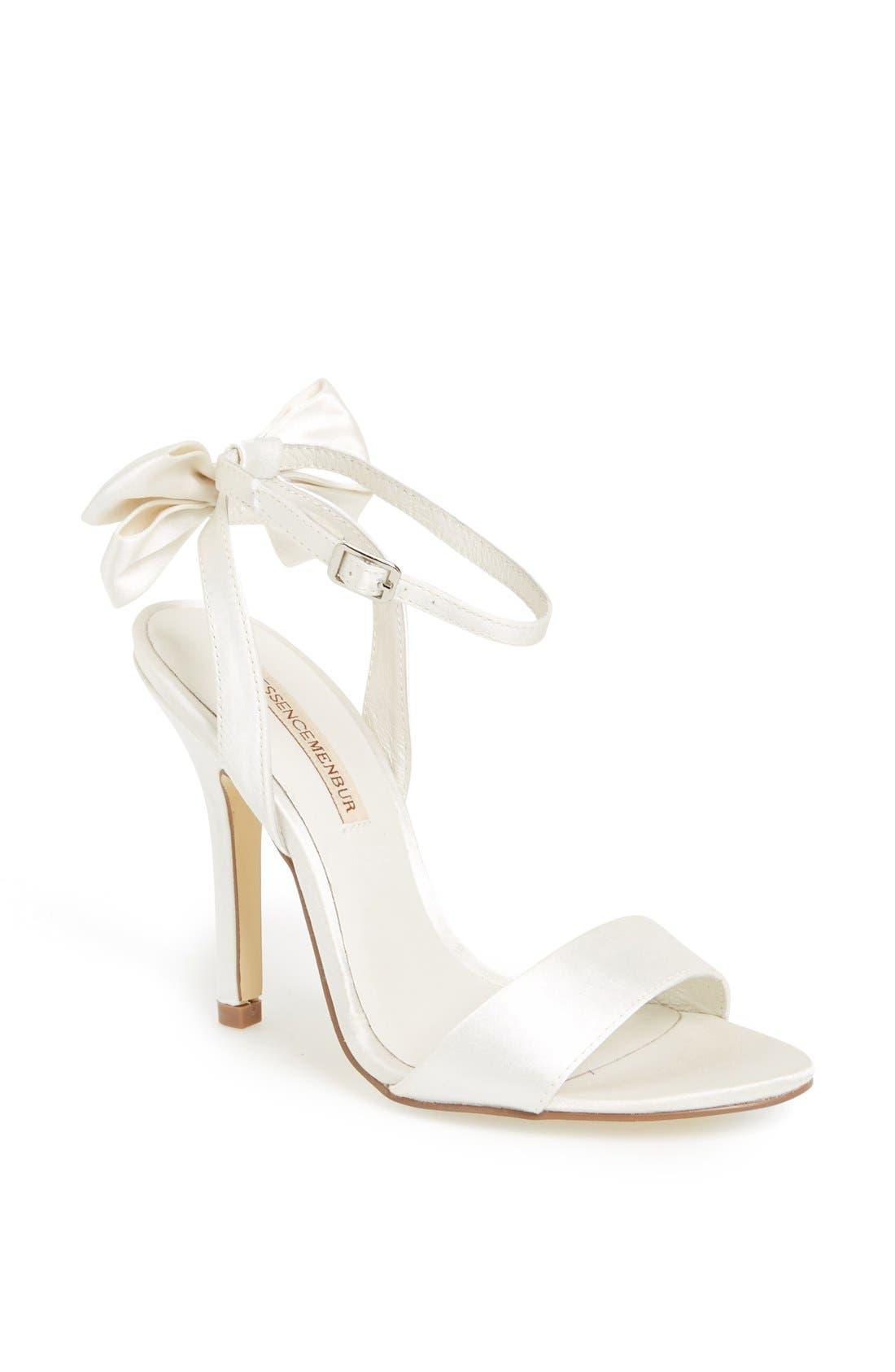 Main Image - Menbur 'Milan' Satin Sandal