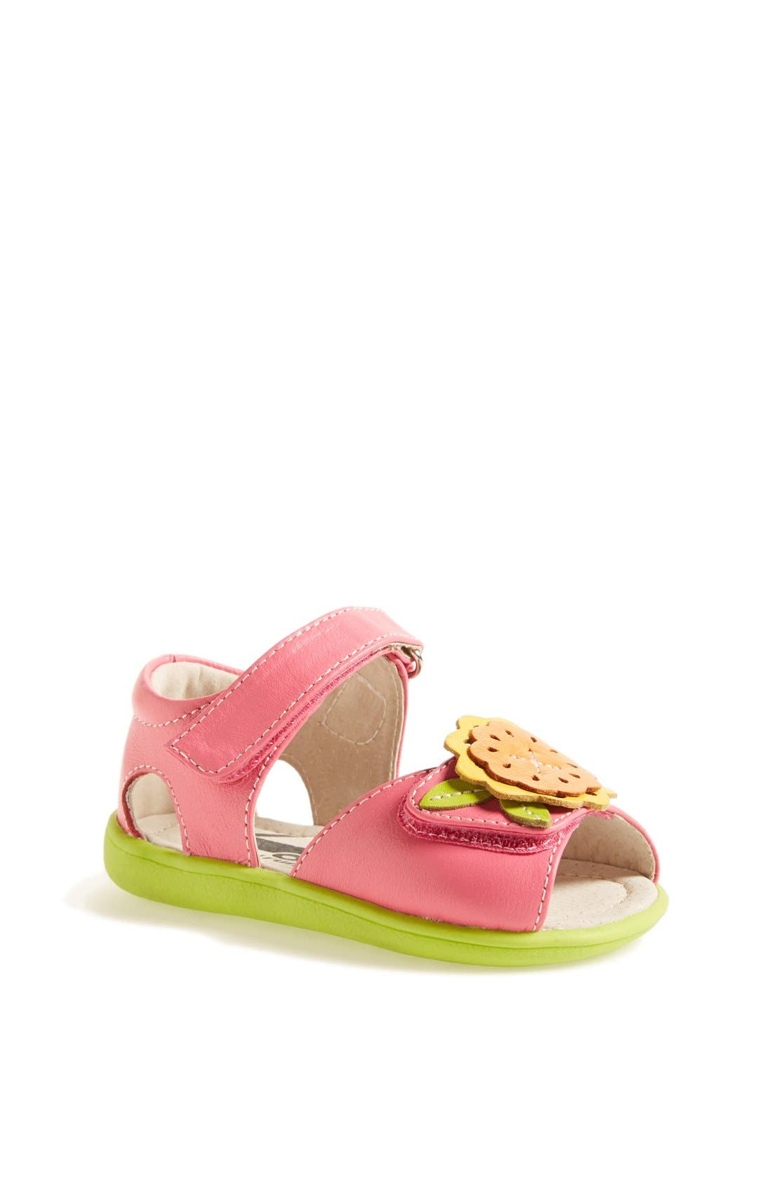 Alternate Image 1 Selected - See Kai Run 'Eliza' Sandal (Baby, Walker & Toddler)