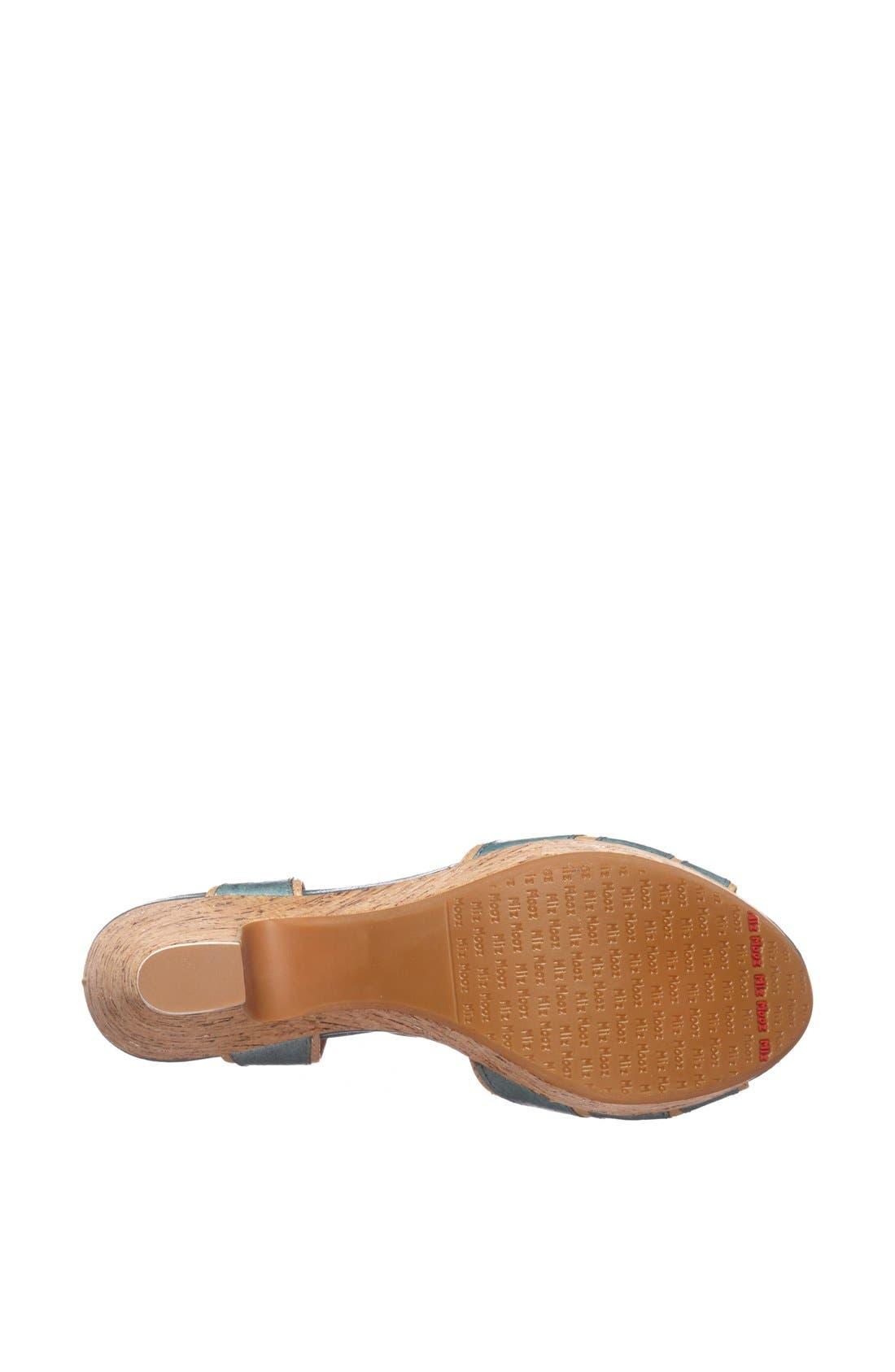 Alternate Image 4  - Miz Mooz 'Corbin' Two Tone Sandal