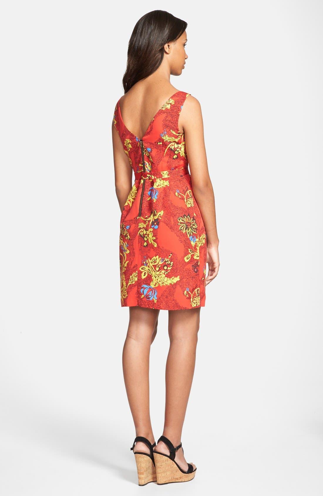 Alternate Image 2  - Plenty by Tracy Reese 'Ashley' V-Neck Print Dress