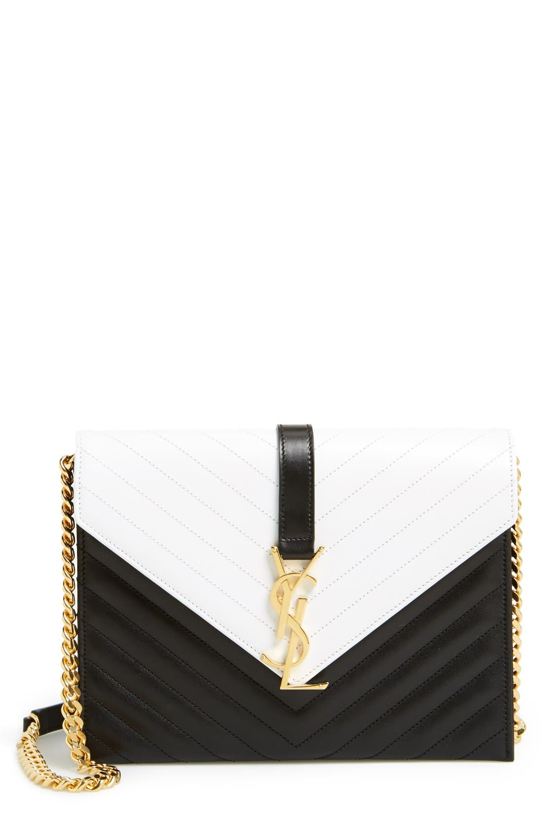 Main Image - Saint Laurent 'Cassandre' Shoulder Bag