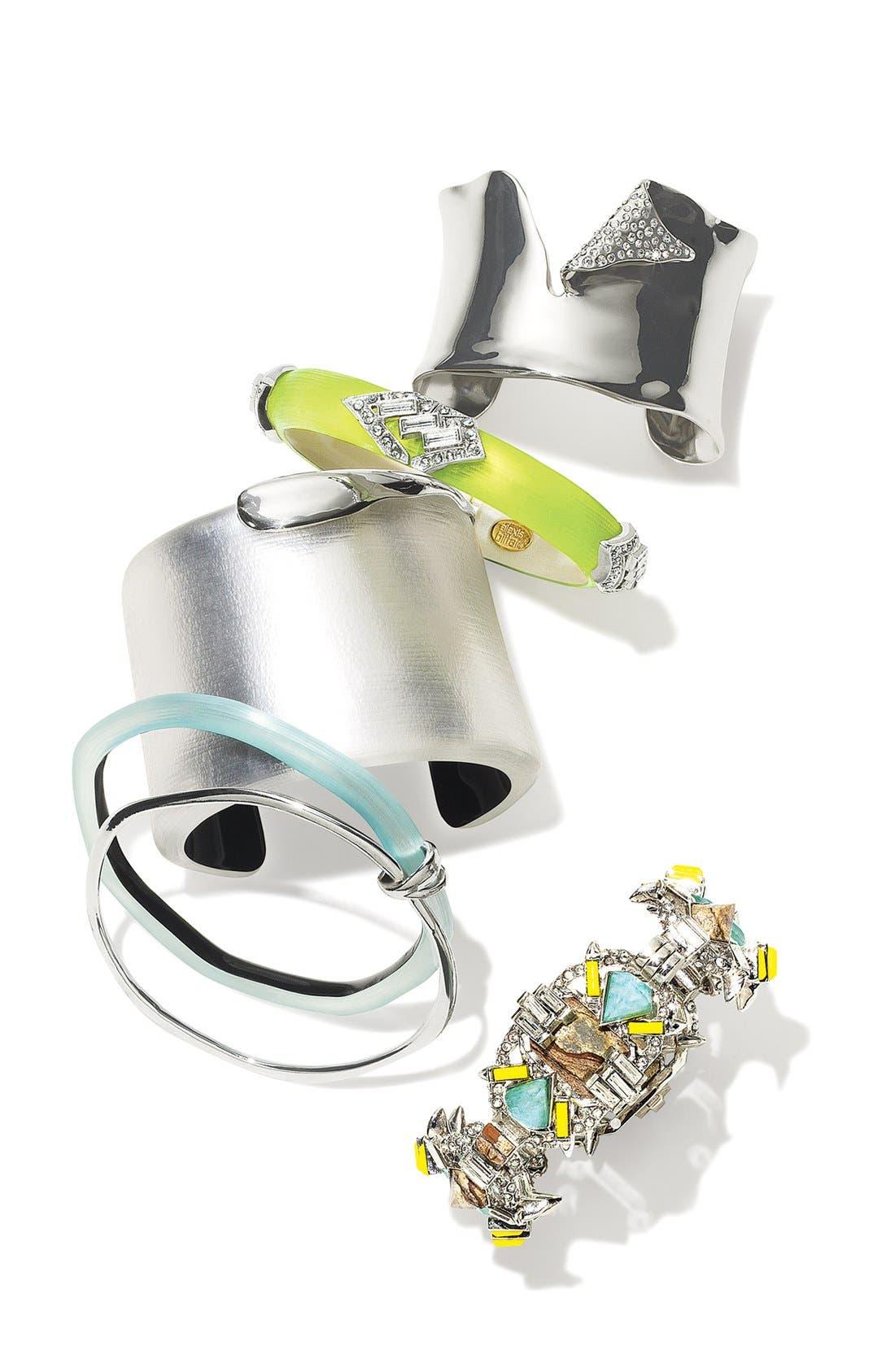 'Lucite<sup>®</sup> - Neon Deco' Bracelet,                             Alternate thumbnail 2, color,