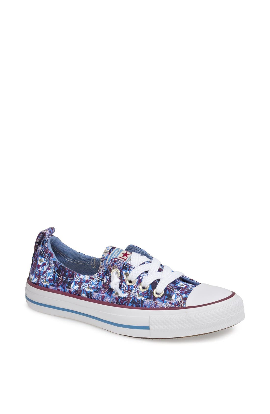 Main Image - Converse Chuck Taylor® 'Shoreline' Flower Print Sneaker (Women)