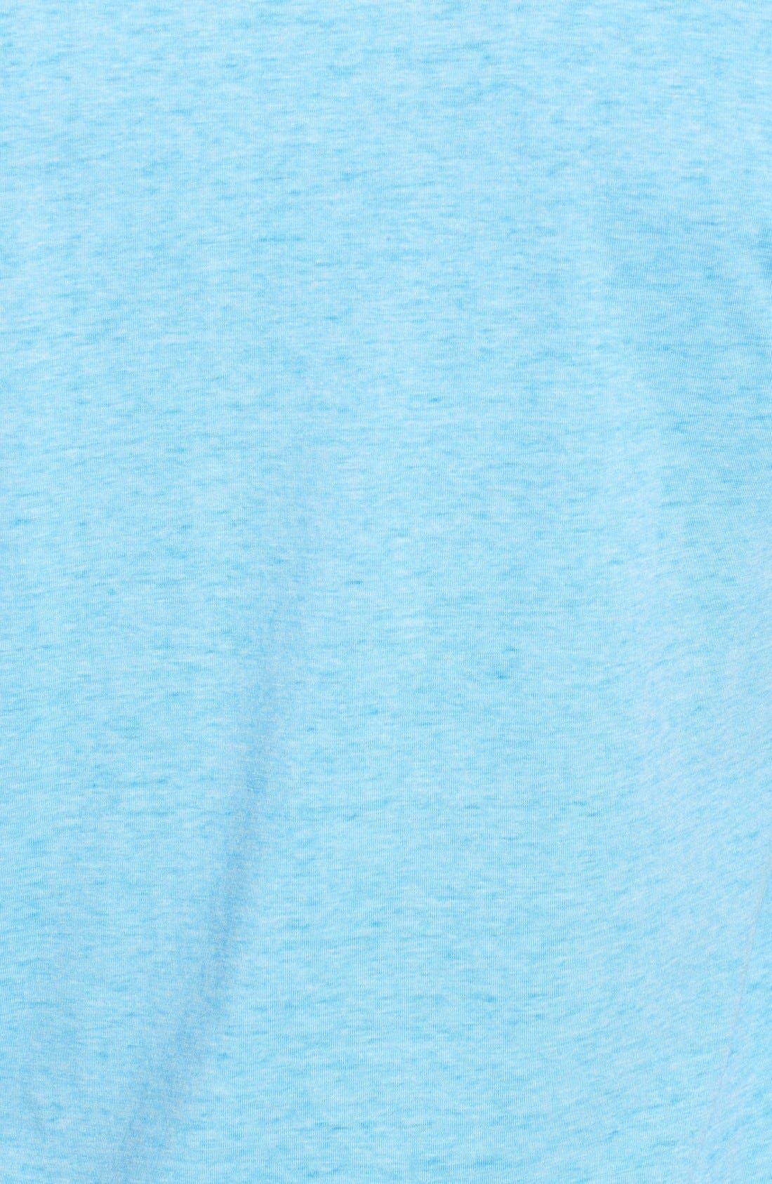 Alternate Image 3  - Red Jacket 'Texas Rangers - Burnout' V-Neck T-Shirt