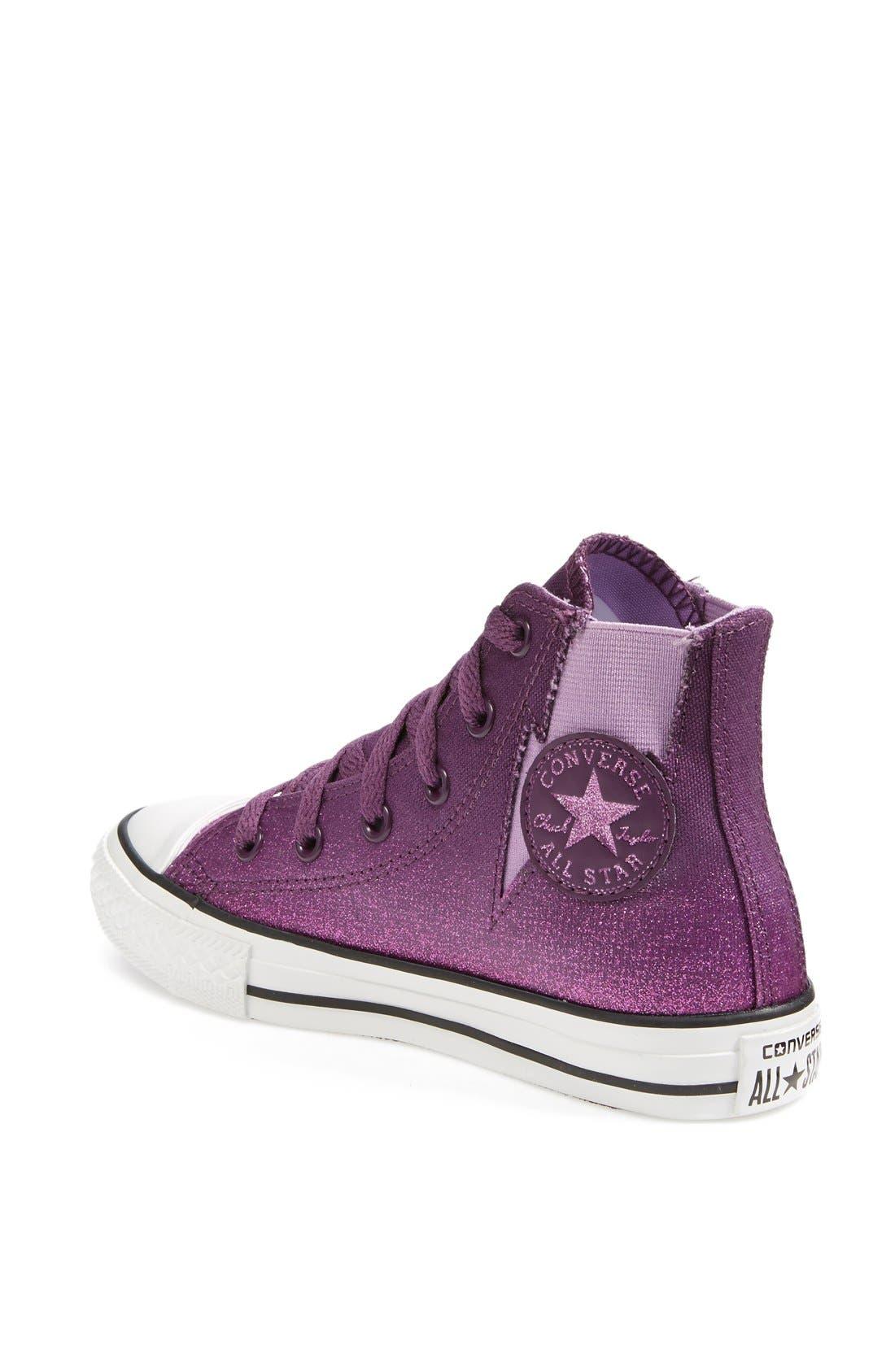 Alternate Image 2  - Converse Chuck Taylor® All Star® 'Sparkle Wash Boltz' High Top Sneaker (Toddler, Little Kid & Big Kid)