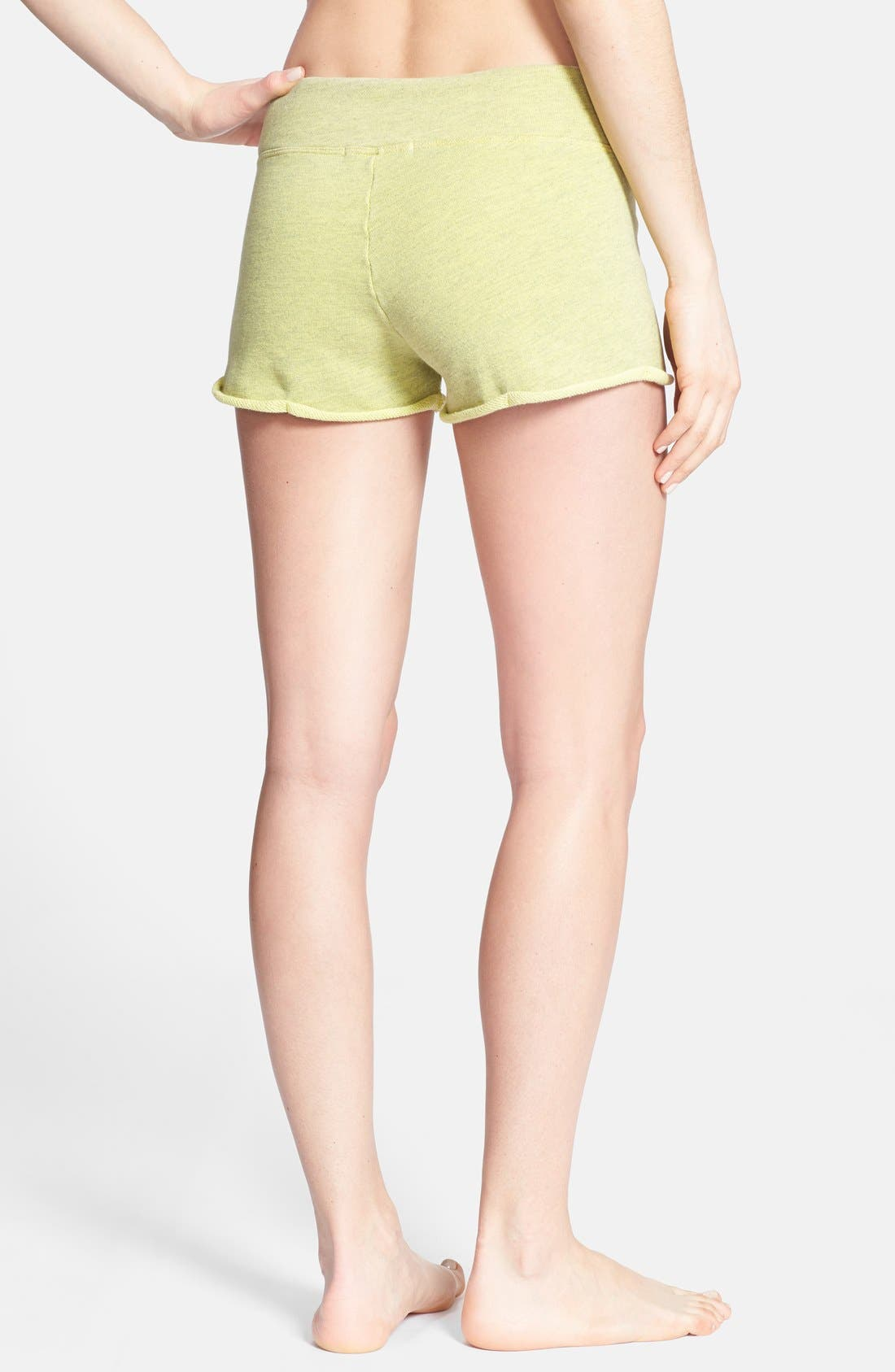 Alternate Image 2  - Solow Rolled Hem Shorts