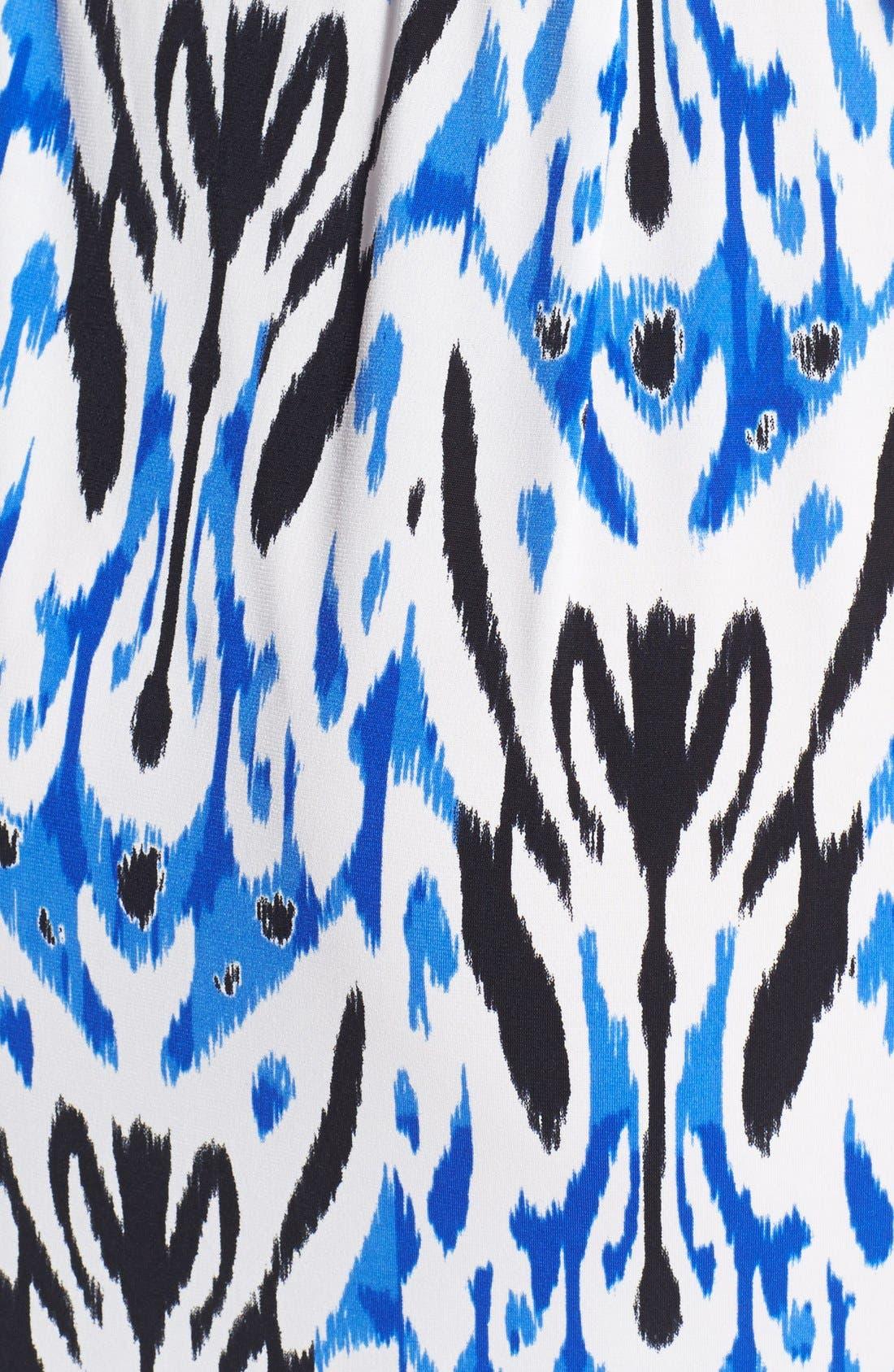 Alternate Image 4  - Maggy London Print Short Sleeve Wrap Dress