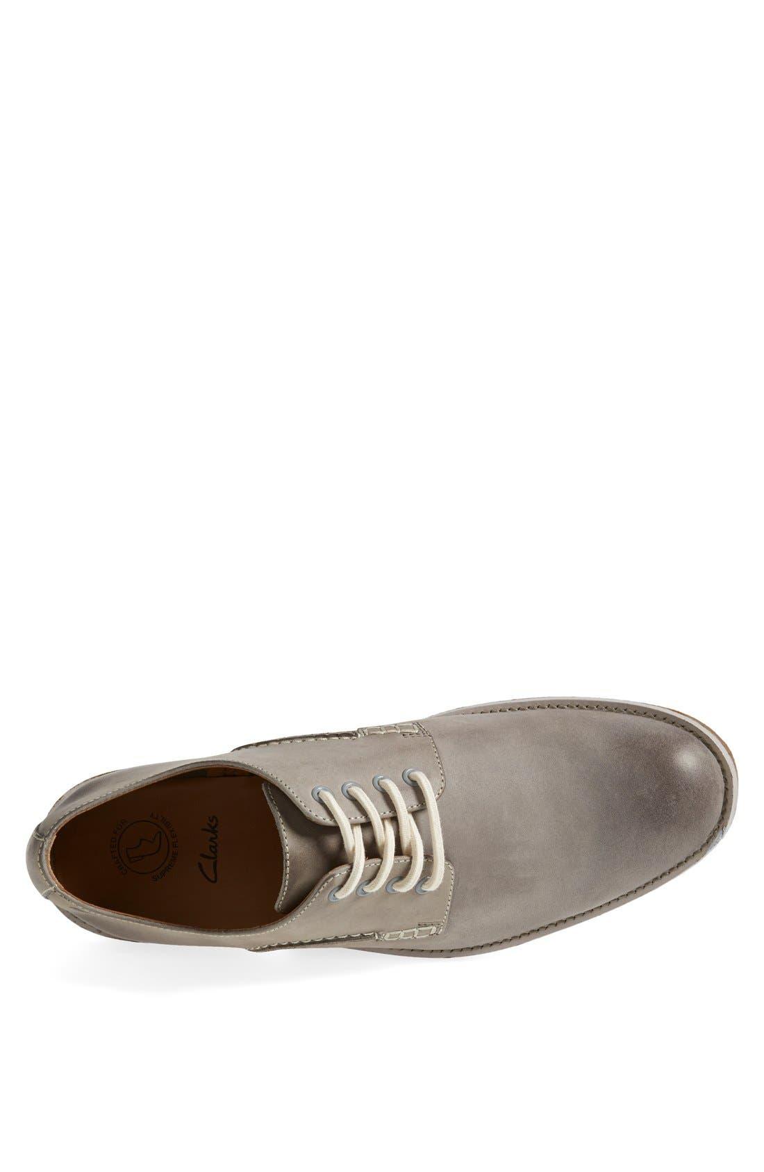 Alternate Image 3  - Clarks® 'Farli Walk' Plain Toe Derby   (Men)