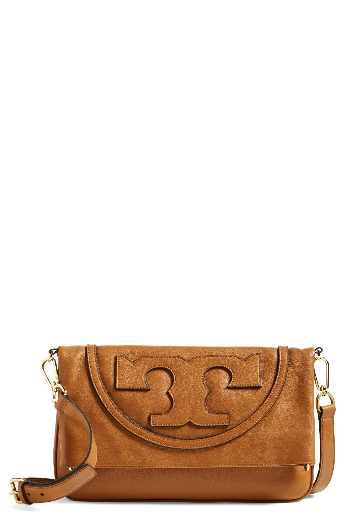 Alternate Image 1 Selected - Tory Burch 'All T Suki' Leather Crossbody Bag
