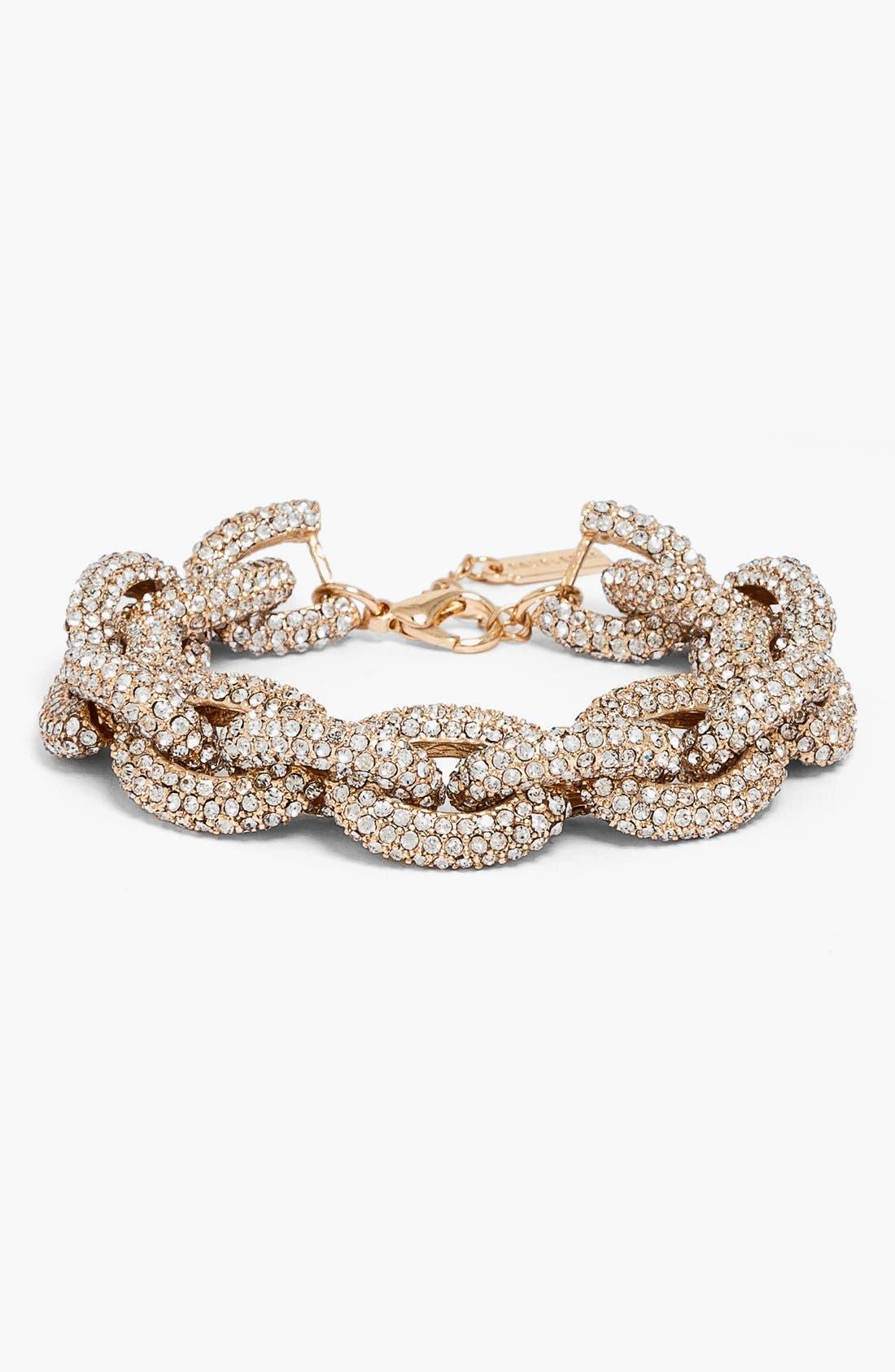 Main Image - BaubleBar Pavé Link Bracelet