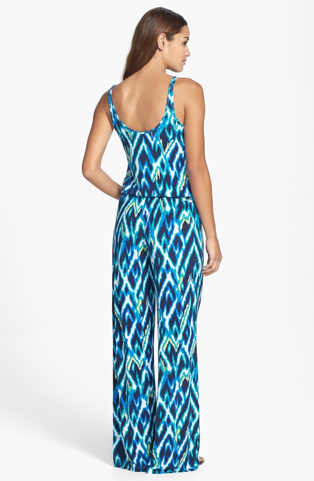Alternate Image 2  - Tart 'Megan' Print Jersey Jumpsuit
