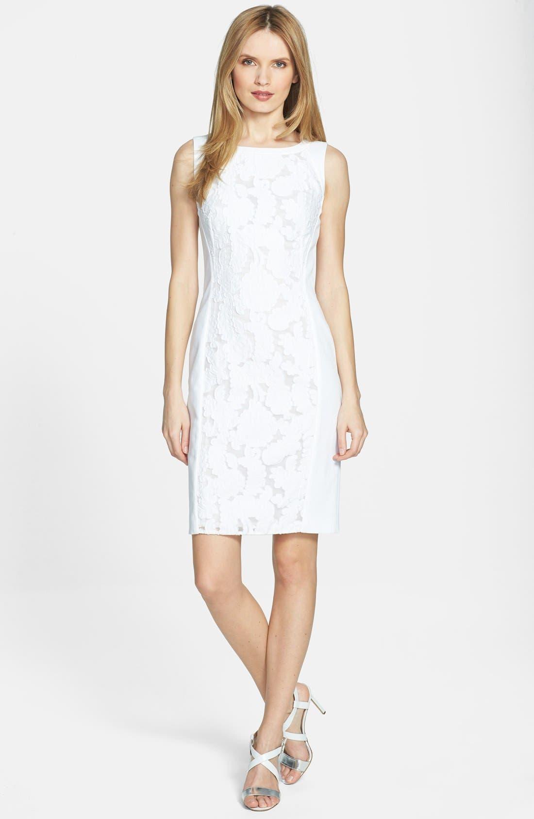 Main Image - BOSS HUGO BOSS 'Dijasin' Sleeveless Sheath Dress