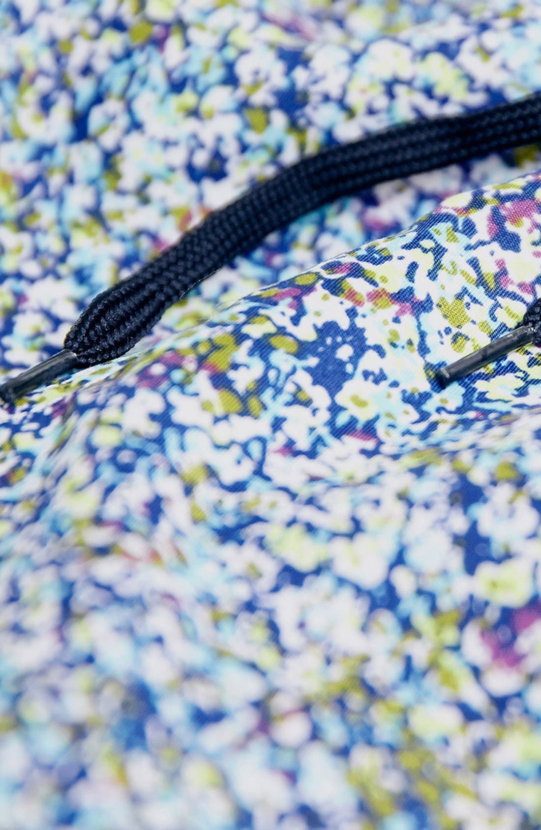 Alternate Image 3  - Topman Floral Print Swim Trunks