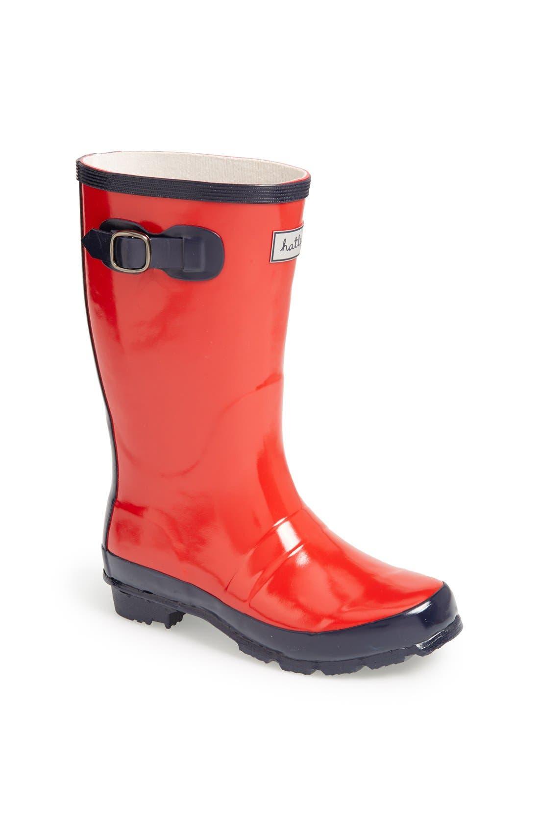 Main Image - Hatley 'Splash' Rain Boot (Toddler & Little Kid)
