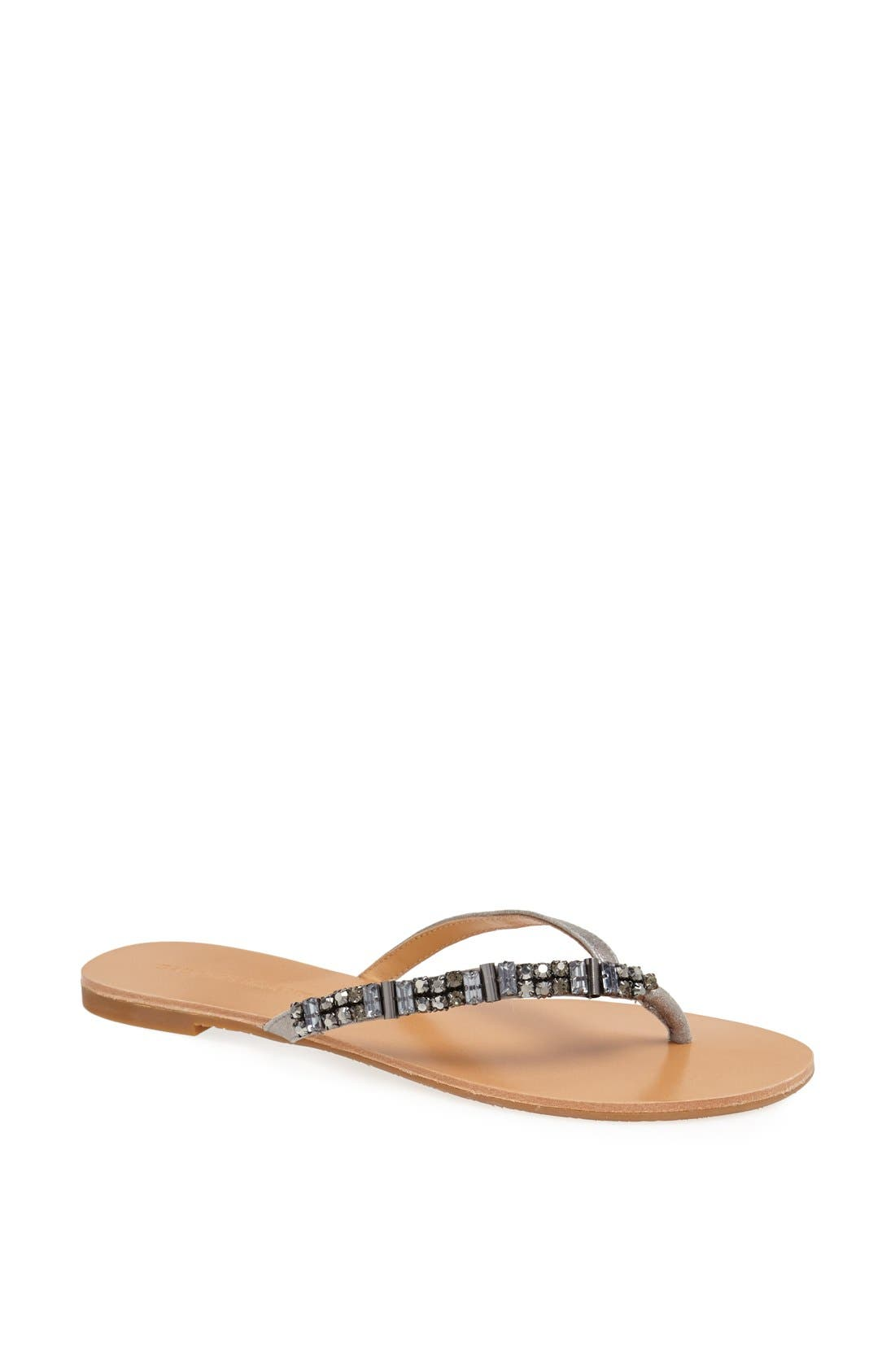 Alternate Image 1 Selected - Badgley Mischka 'Kamryn' Thong Sandal