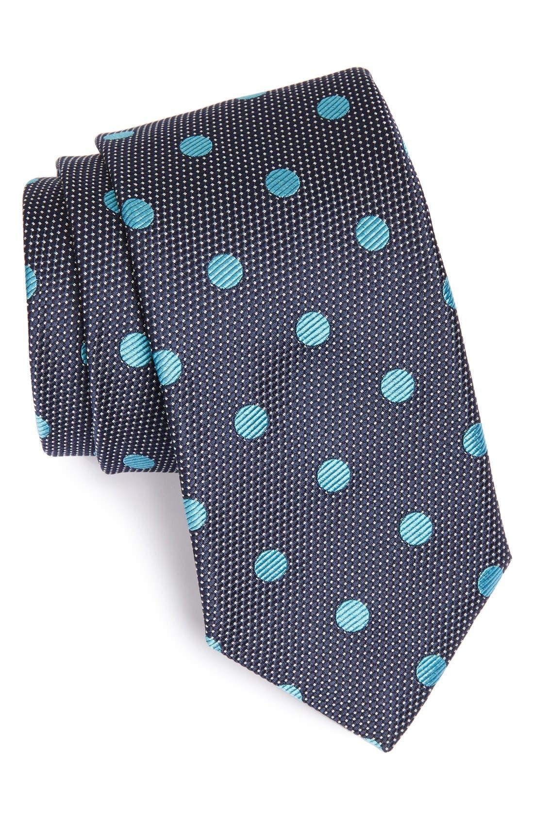Main Image - Samuelsohn Woven Silk Tie