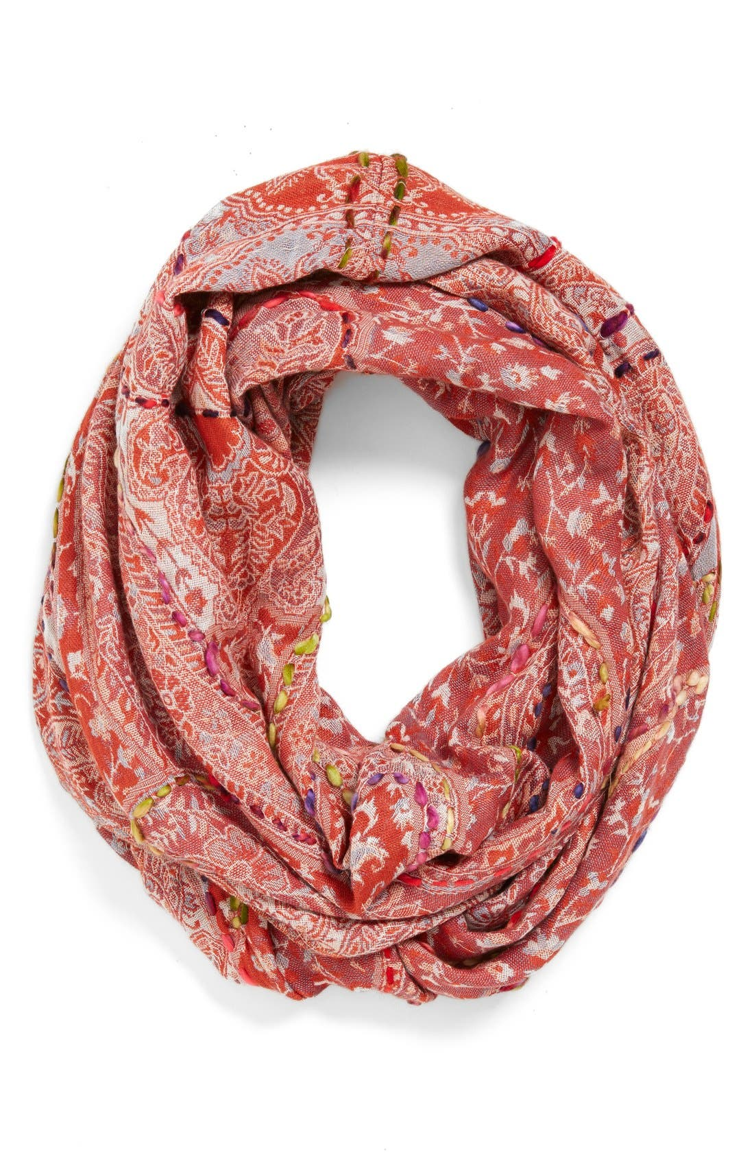 Main Image - Raj Imports Embroidered Infinity Scarf