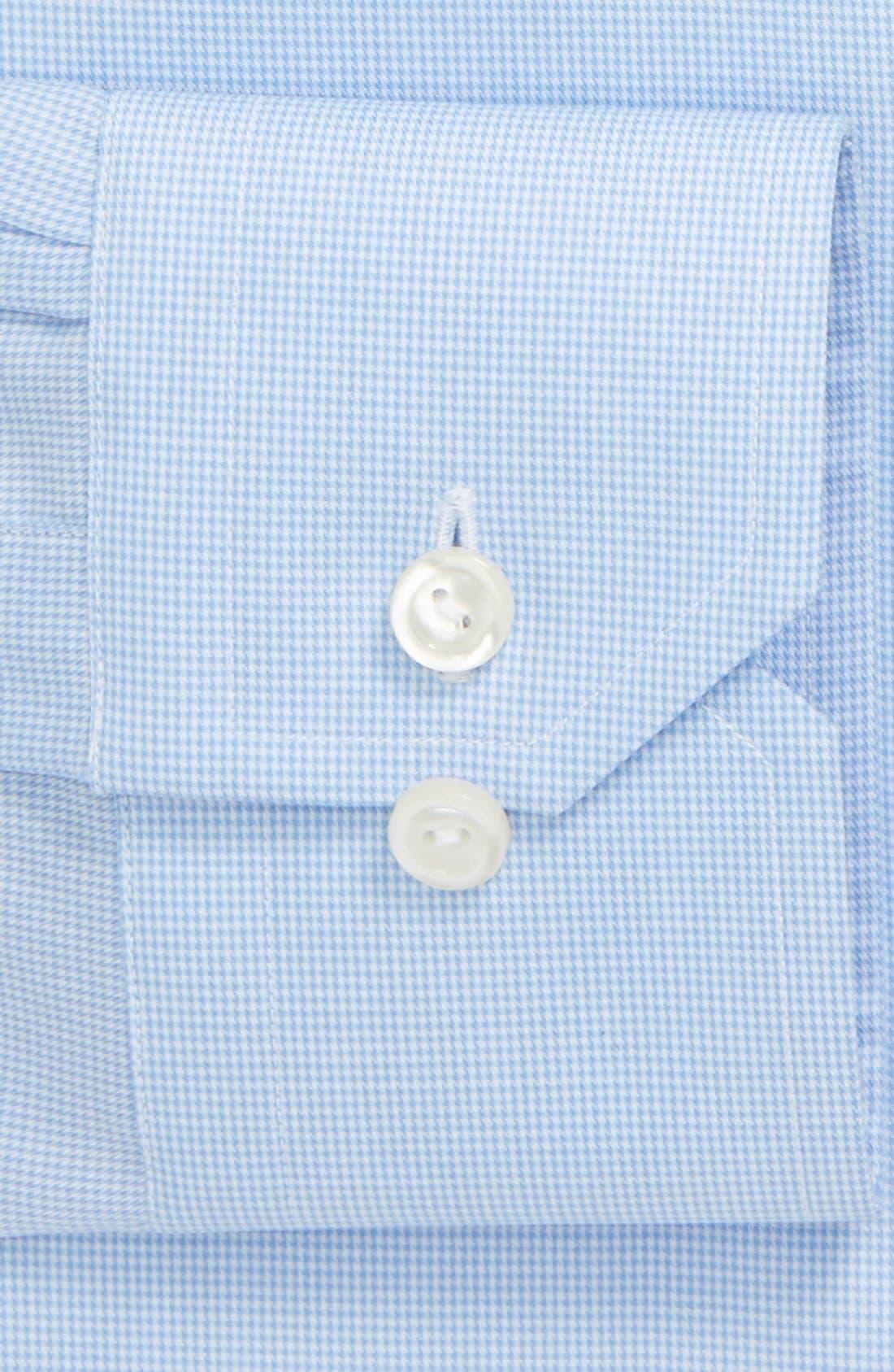 Alternate Image 4  - Eton Contemporary Fit Houndstooth Dress Shirt